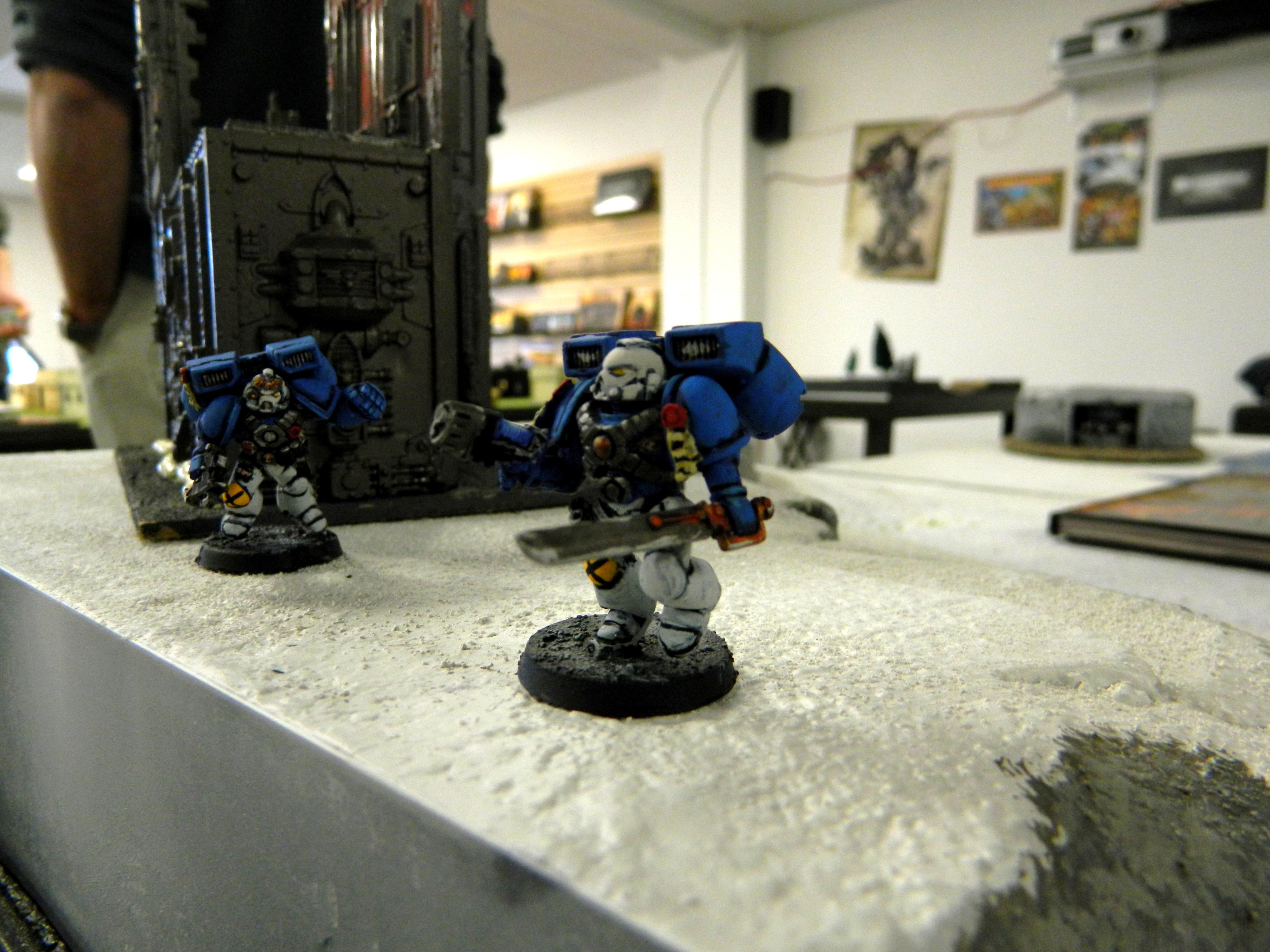 Emperor's Musketeers, Space Marines, Vanguard Veterans
