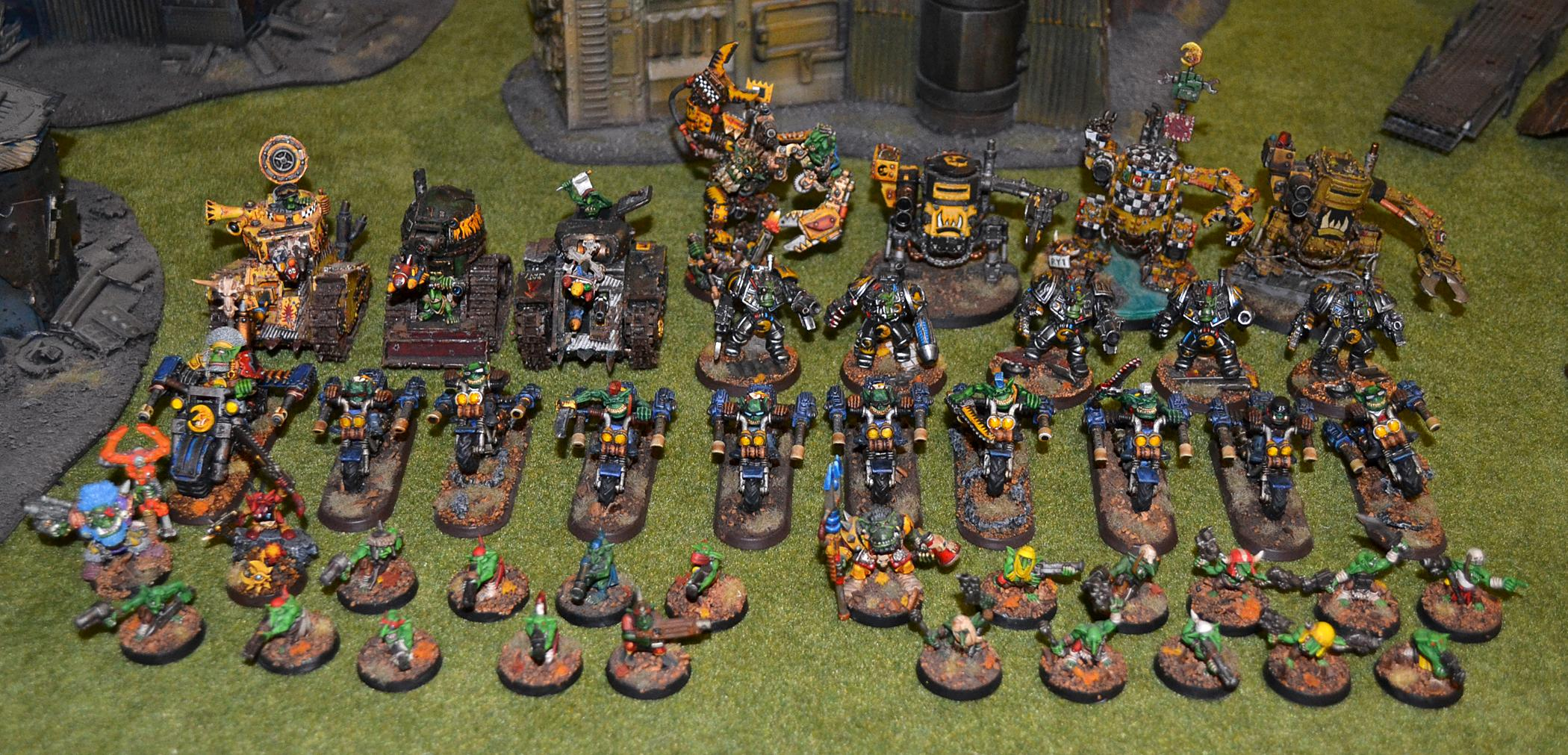 Army, Bad Moons, Orks, Warhammer 40,000