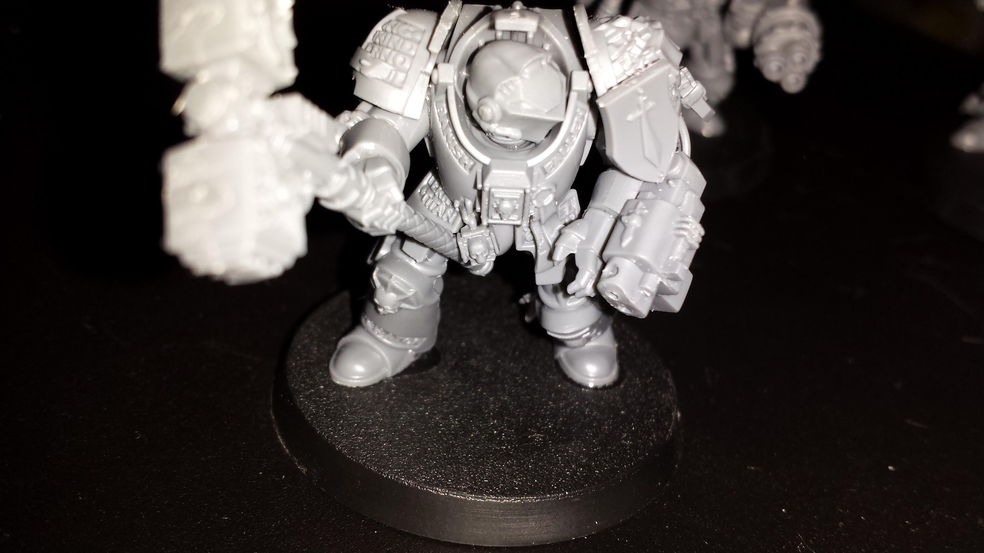 Deadshot, Grey Knight Terminators, Grey Knights, Nemesis Daemon Hammer, Psilincer, Psyker, Stormbolter, Tactical Dreadnought Armour, Terminator Armor, Terminator Squad