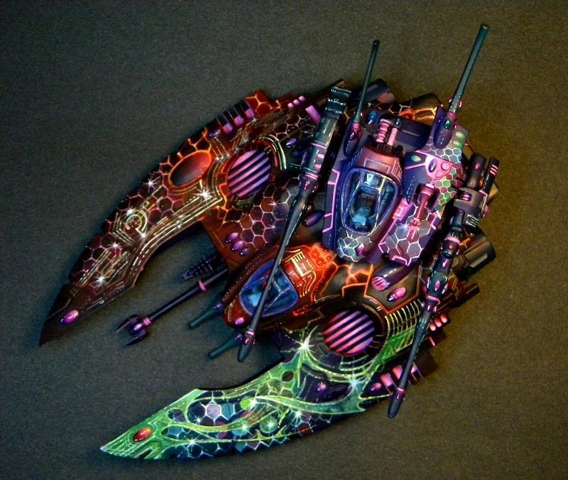 Eldar, Falcon, Freehand, Warhammer 40,000