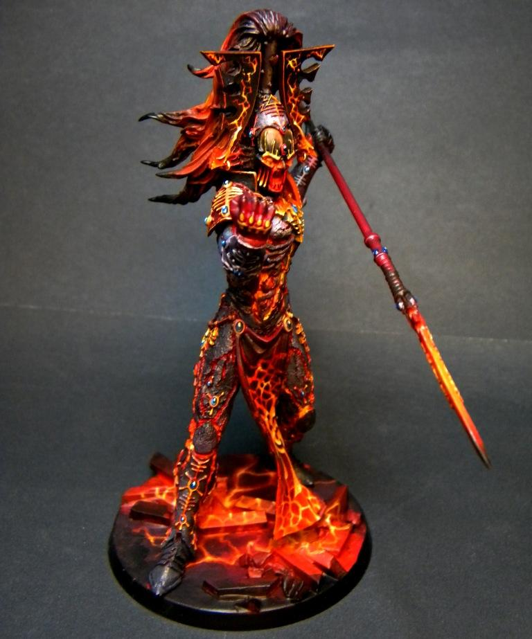 Avatar, Eldar, Khaine, Object Source Lighting