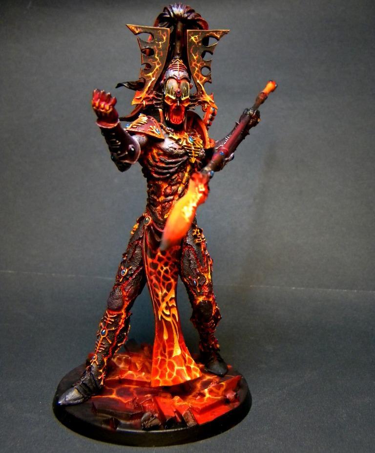 Avatar, Eldar, Fire, Forge World, Glow, Object Source Lighting