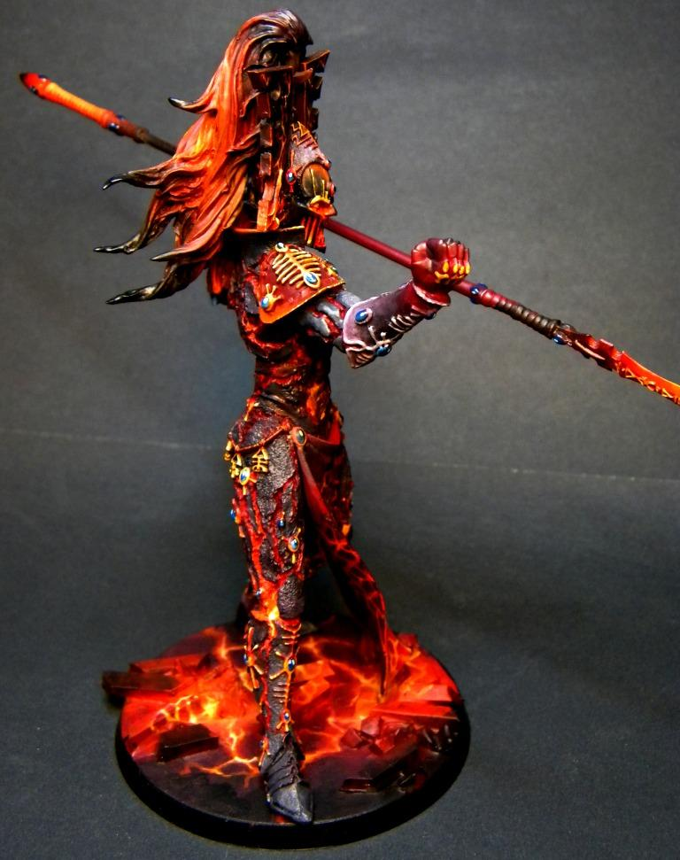 Avatar Of Khaine, Eldar, God, Painted, Warhammer 40,000