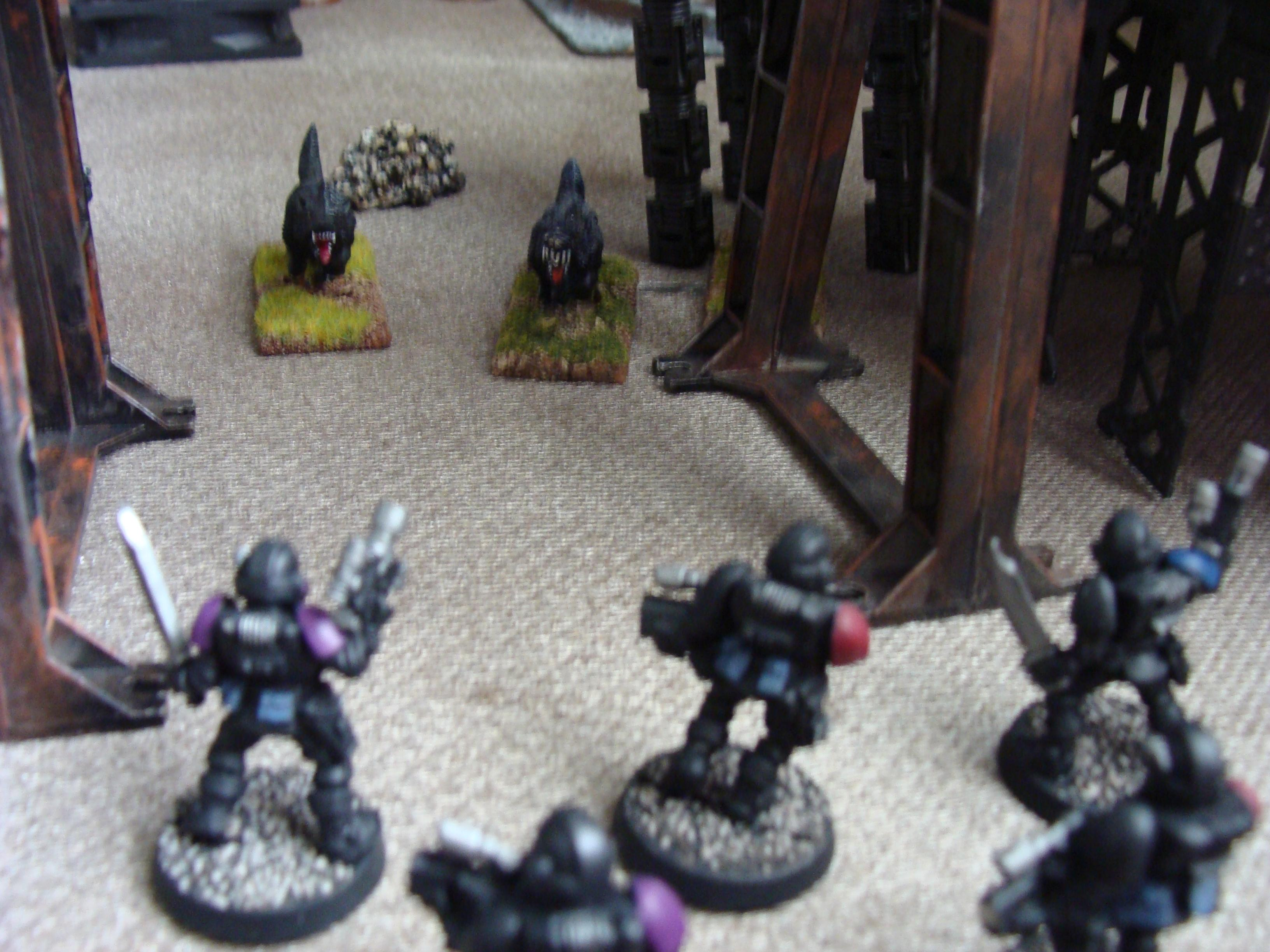 Battle, Battle Report, Chaos, Daemons, Deathwing, Nurgle, Orks, Raven Guard, Report, Space Marines, Thousand Sons, Tzeentch