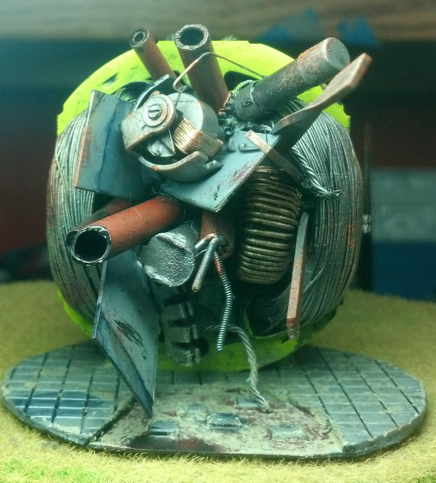 Chipping, Junk, Oil, Pile, Portal, Rust, Scratches, Terrain, Weathering Pigment