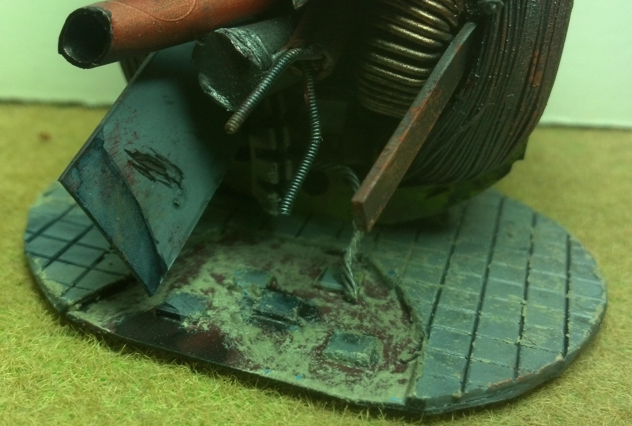 Chipping, Junk, Oil, Pile, Portal, Rust, Scratches, Terrain, Weathering Pigment