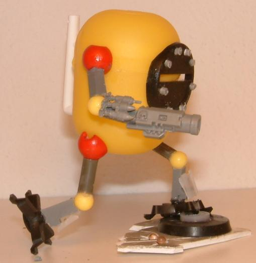 Bob, Bot, Ccdw, Conversion, Dreadnought, Fun, Humor, Imperial, Imps, Ogres, Ogryns, Plankton, Scratch, Scratch Build, Sponge, Trash