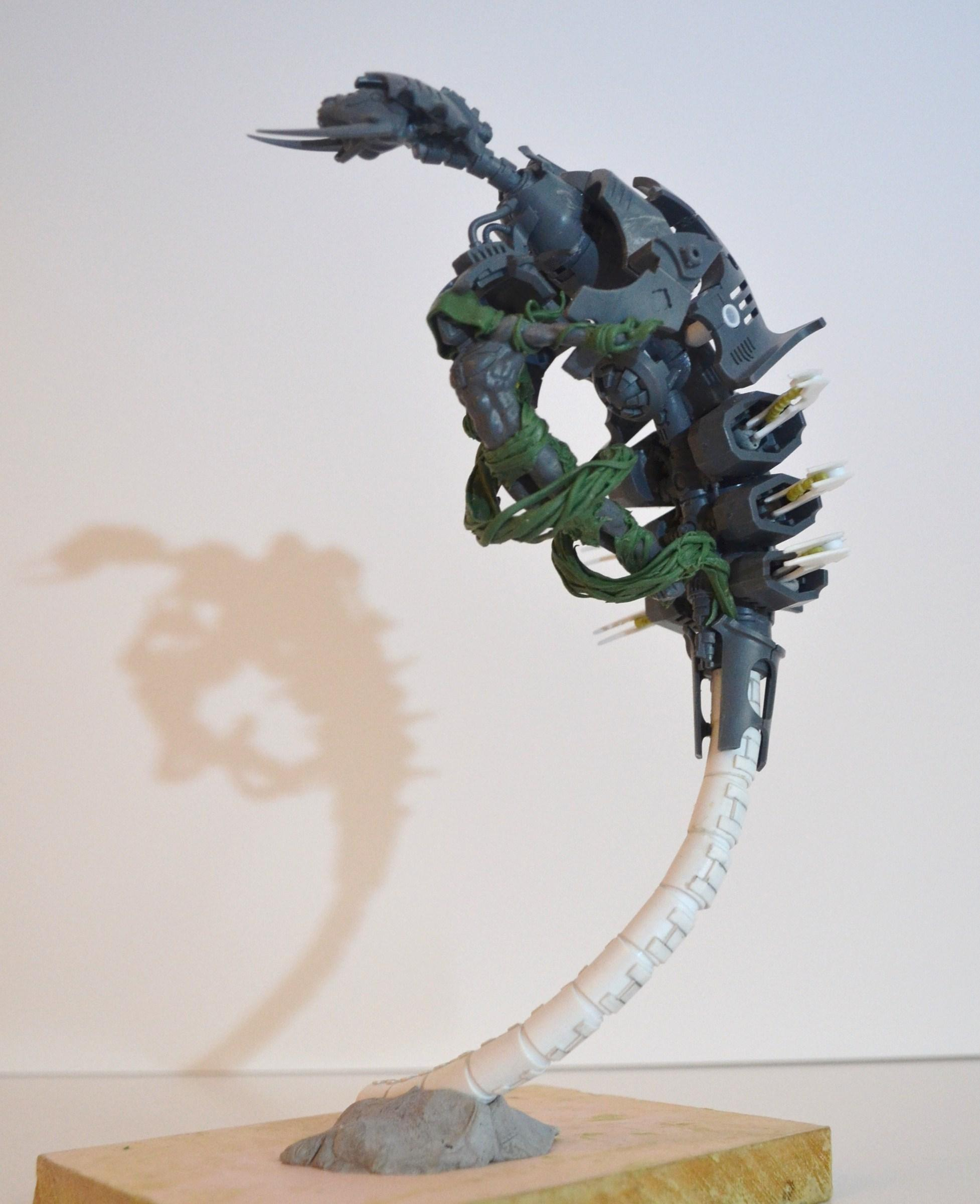 C'tan, Canoptek, Conversion, Guardians, Leach, Monolith, Necrons, Nightbringer, Pyramid, Sculpting, Tesseract Vault, Warhammer 40,000, Warhammer Fantasy