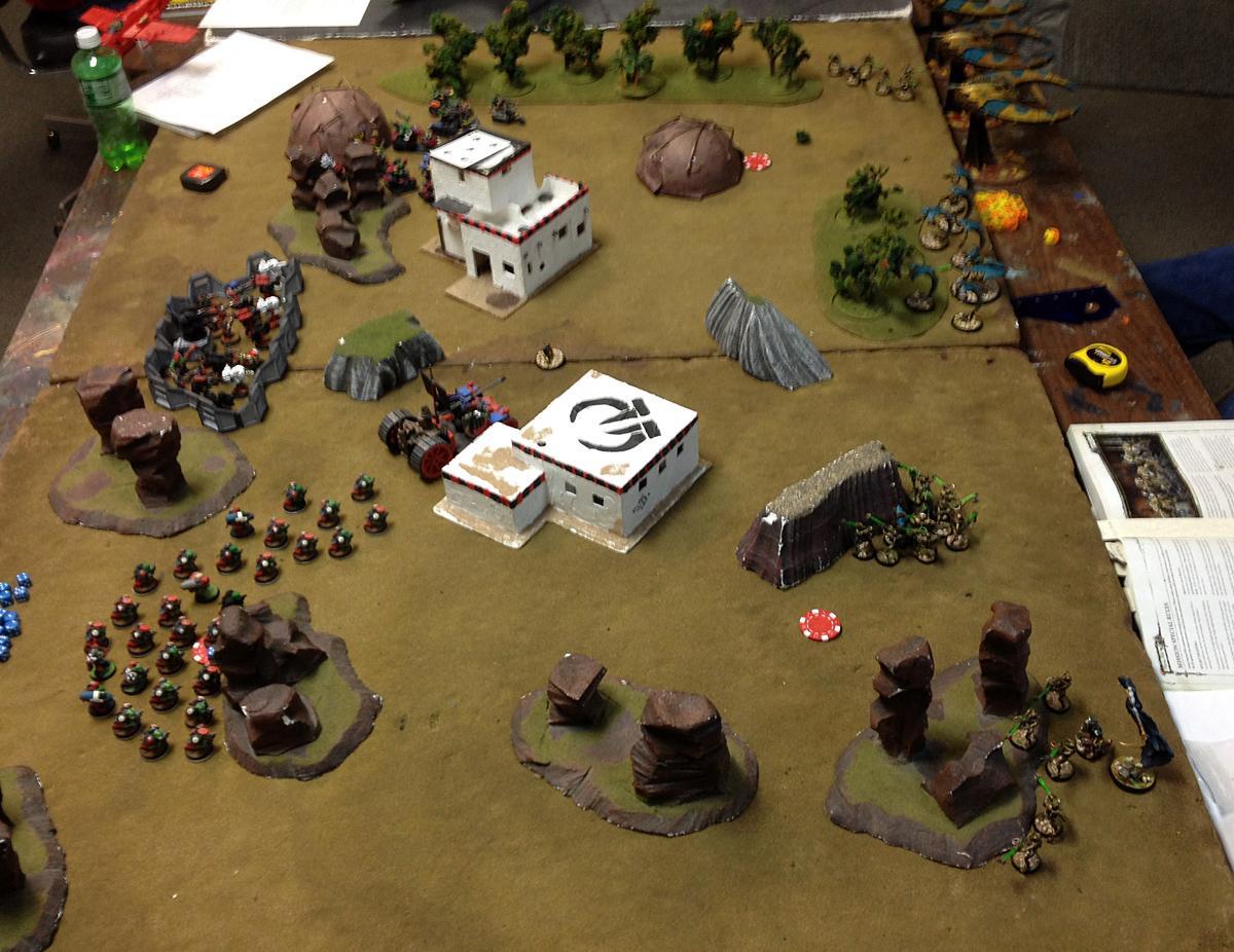 Battle Report, Necrons, Warhammer 40,000