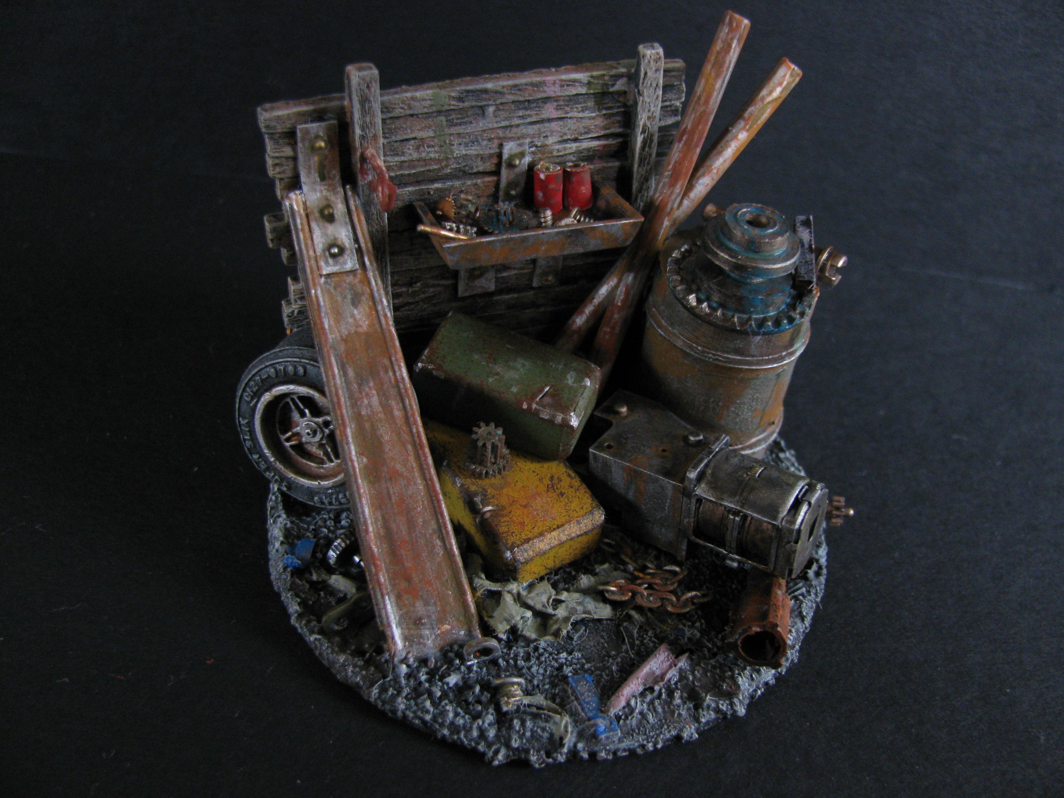 Inquisimunda, Junk, Junk Pile, Munda, Orks, Orky, Terrain, Warhammer 40,000