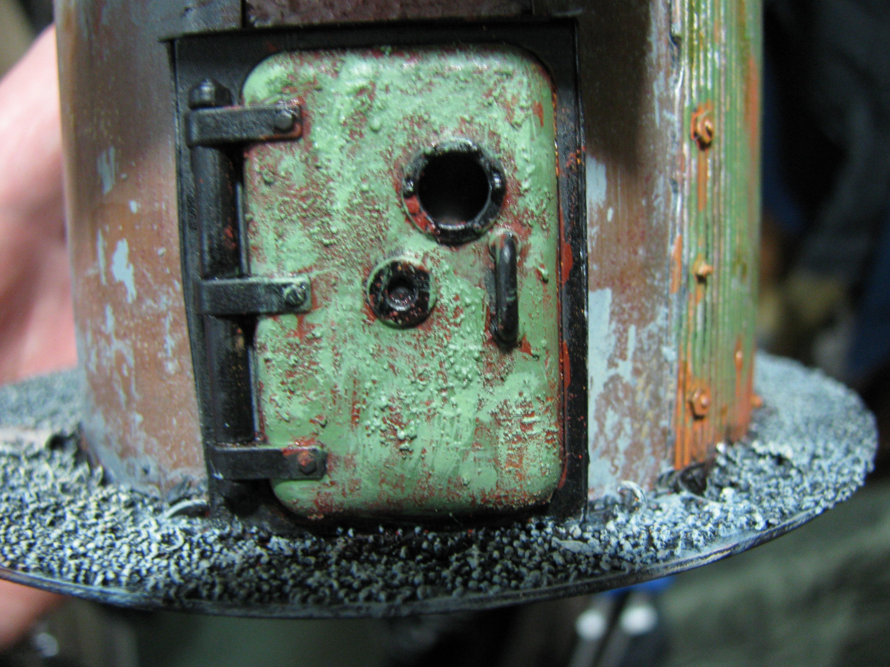 Rust, Terrain