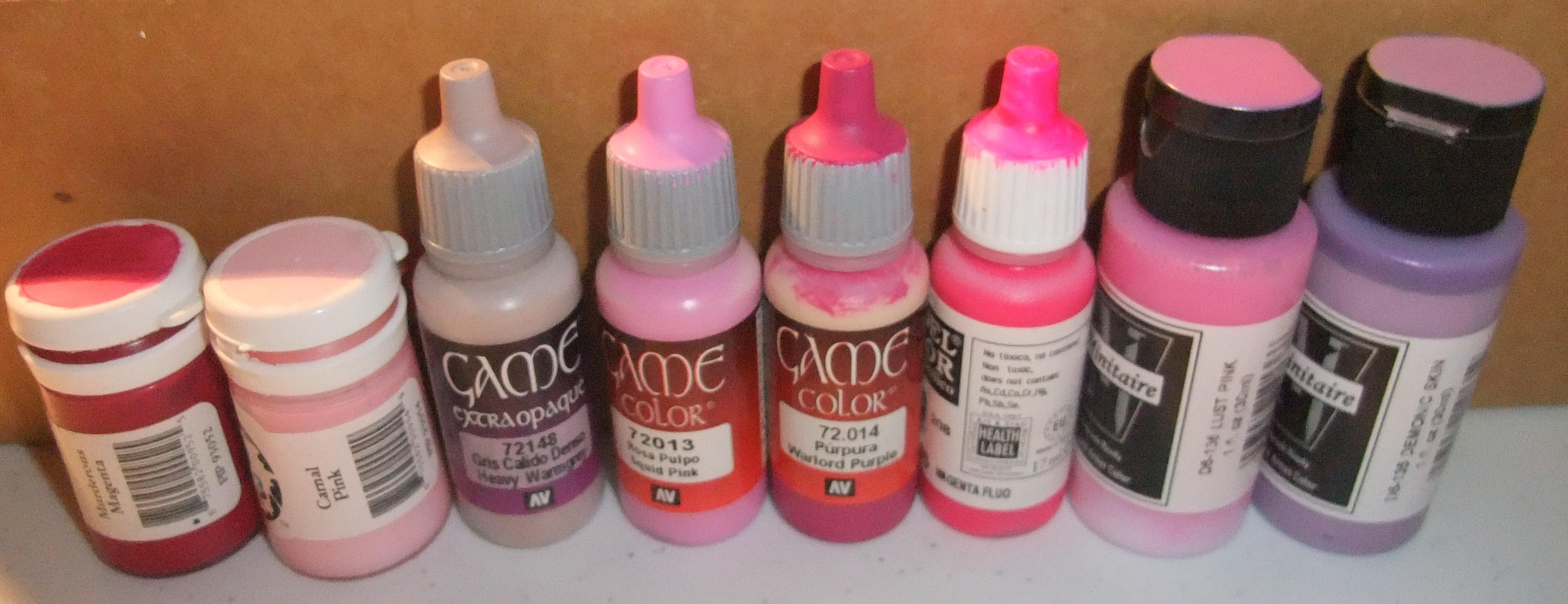 Plague colour selection