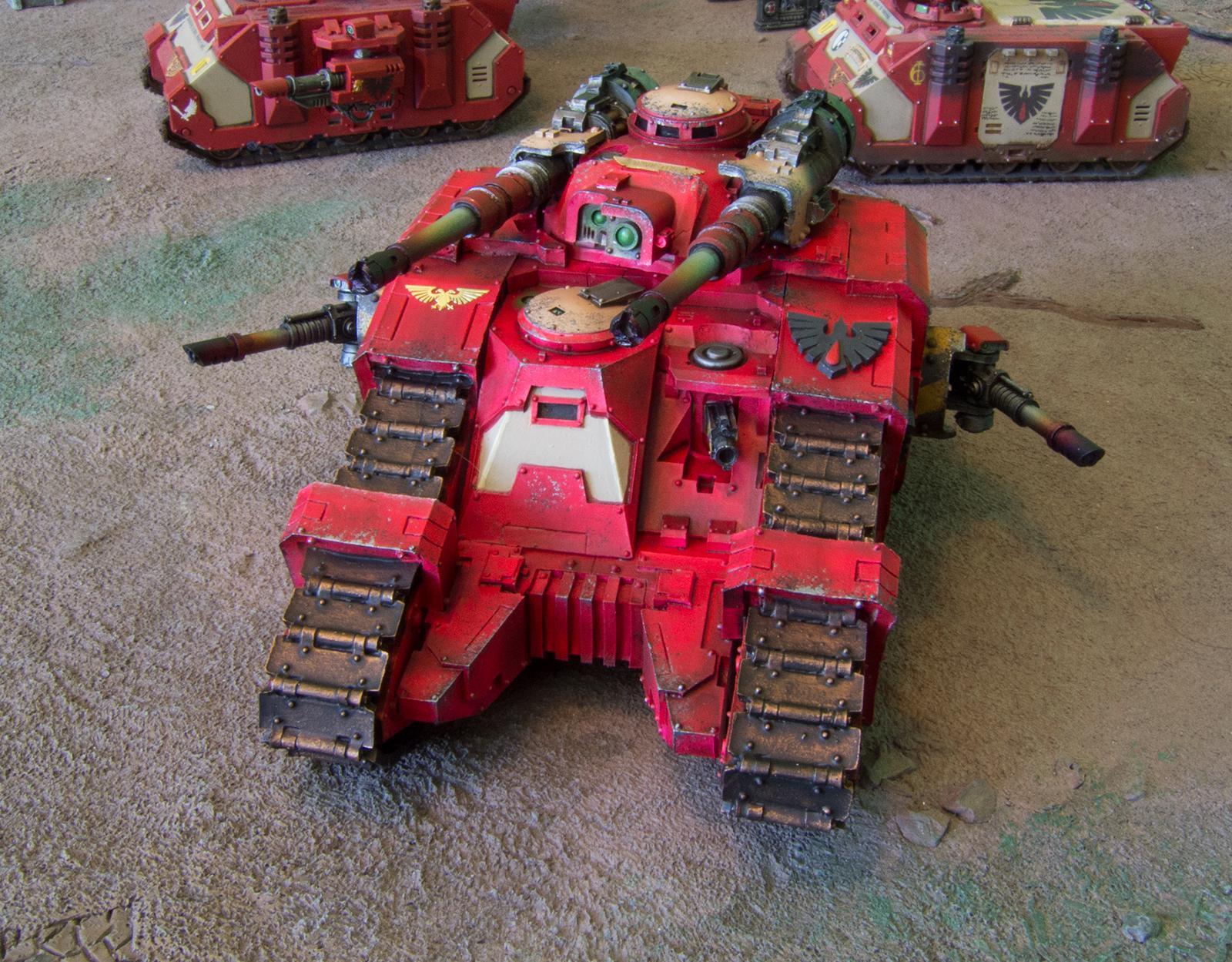 Horus Heresy, Sicaran Battle Tank, Space Marines, Warhammer 40,000