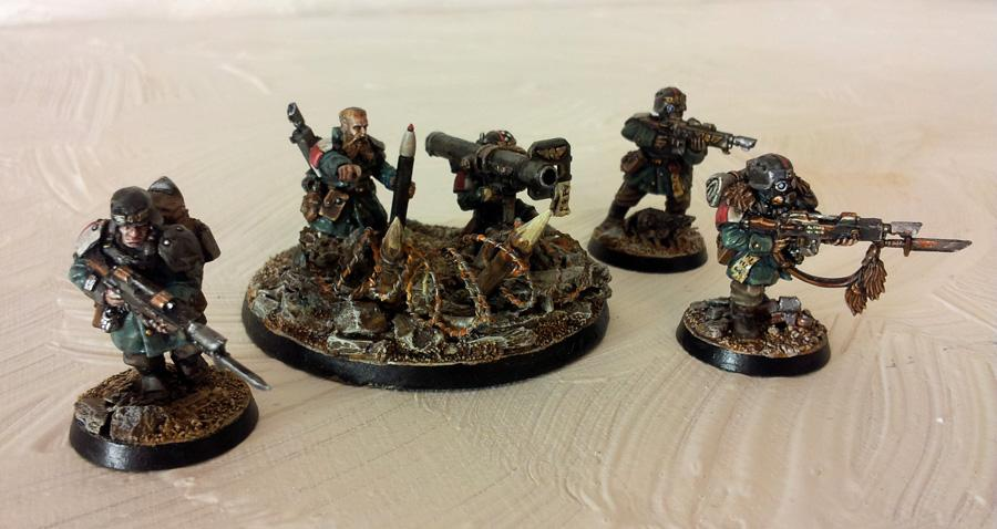 Conversion, Gass Mask, Imperial Guard, Mud, Soldier