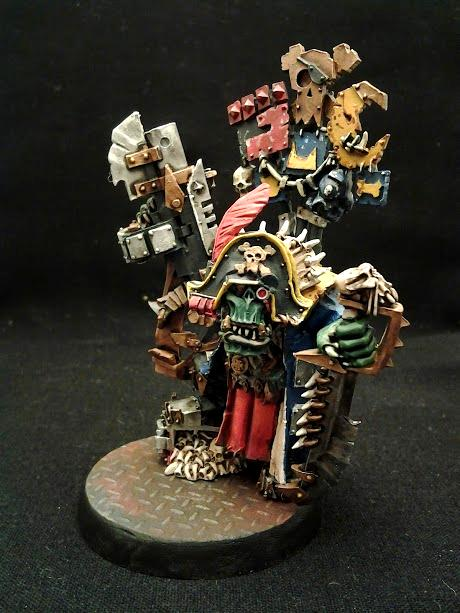 40k Warhammer, Conversion, Converting, Flash Gitz, Green, Orcs, Orks, Yellow Moon