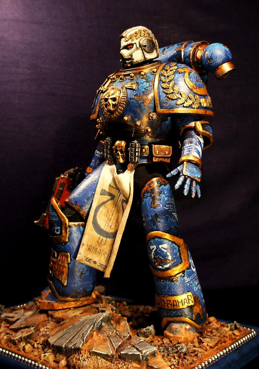 Real Scale, Space Marines, Ultramarines