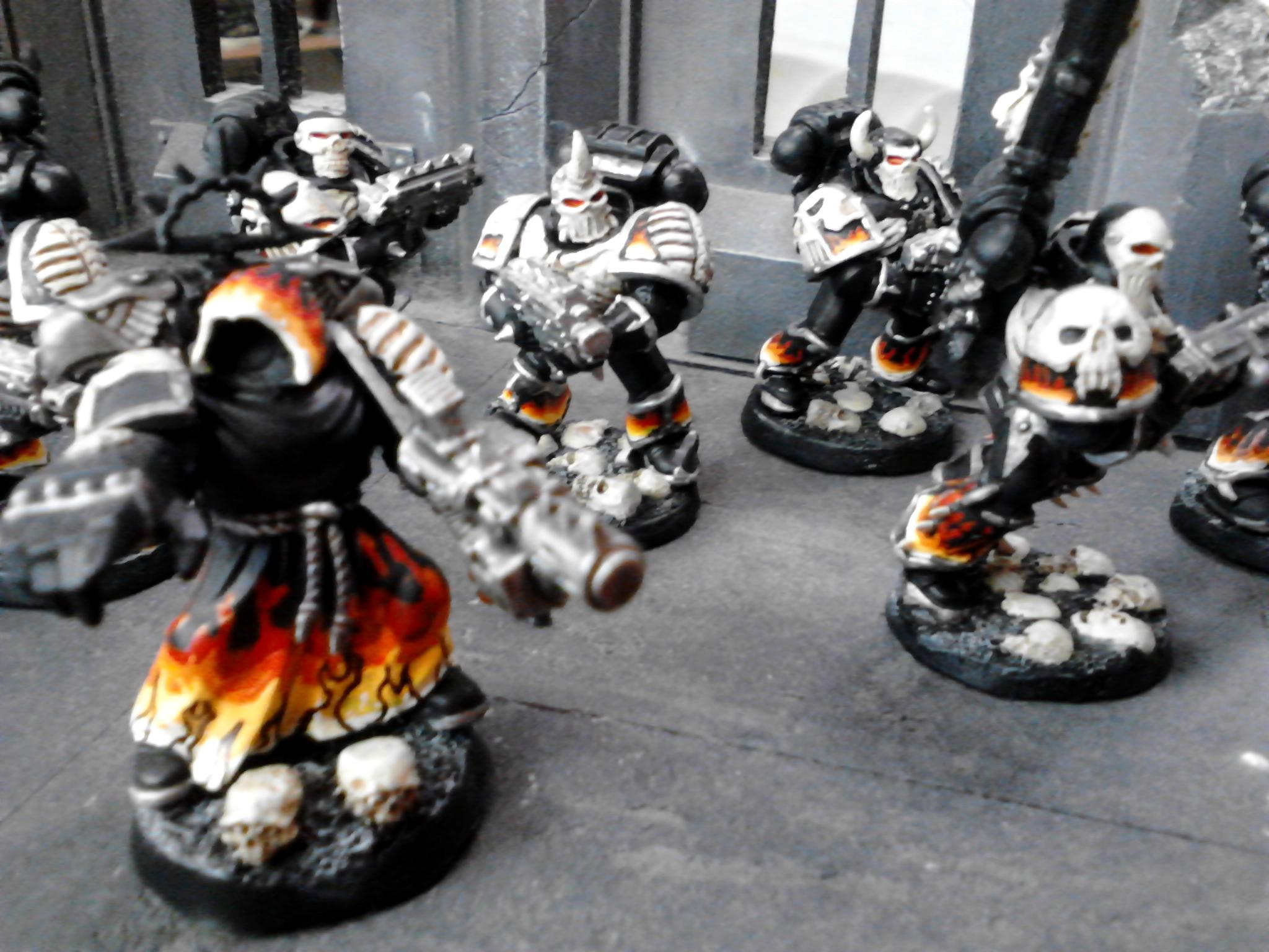 Budget, Captain, Elites, Fire, Fire Hawks, Legion Of The Damned, Skull, Space Marines