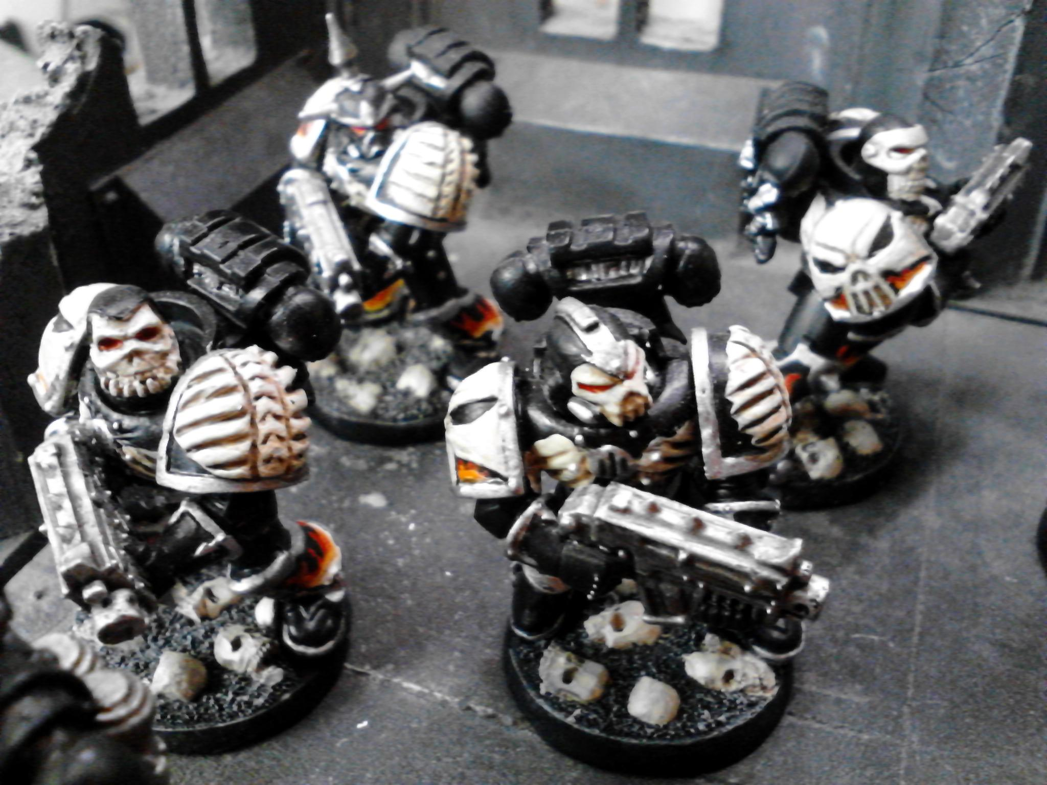 Bolter, Bolters, Budget, Elites, Fire, Fire Hawks, Legion Of The Damned, Multi Melta, Ribs, Skull, Space Marines