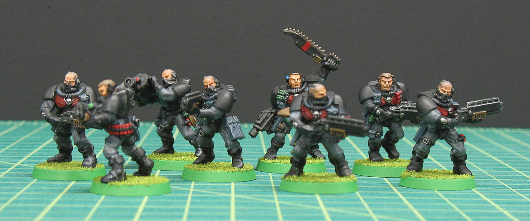 Blood Angels, Kit-bashed, Rogue Trader, Scouts