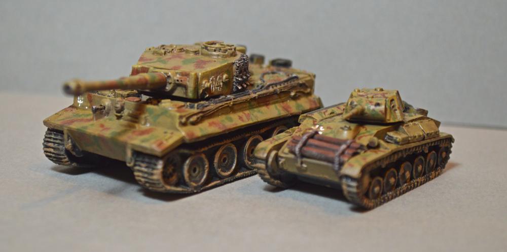 Battlefront, Germans, Peter Pig, T60, Tiger