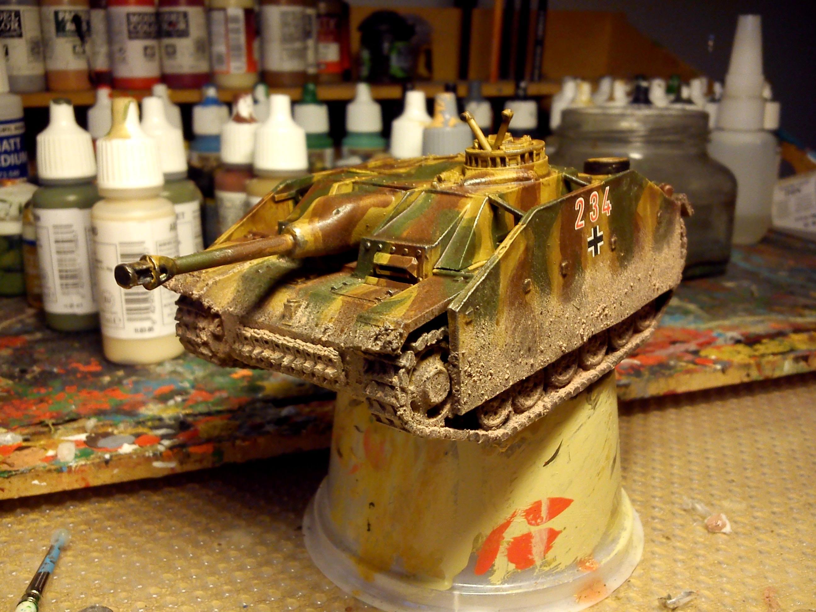 Bolt Action, Germans, Stug, Warlord Games, World War 2