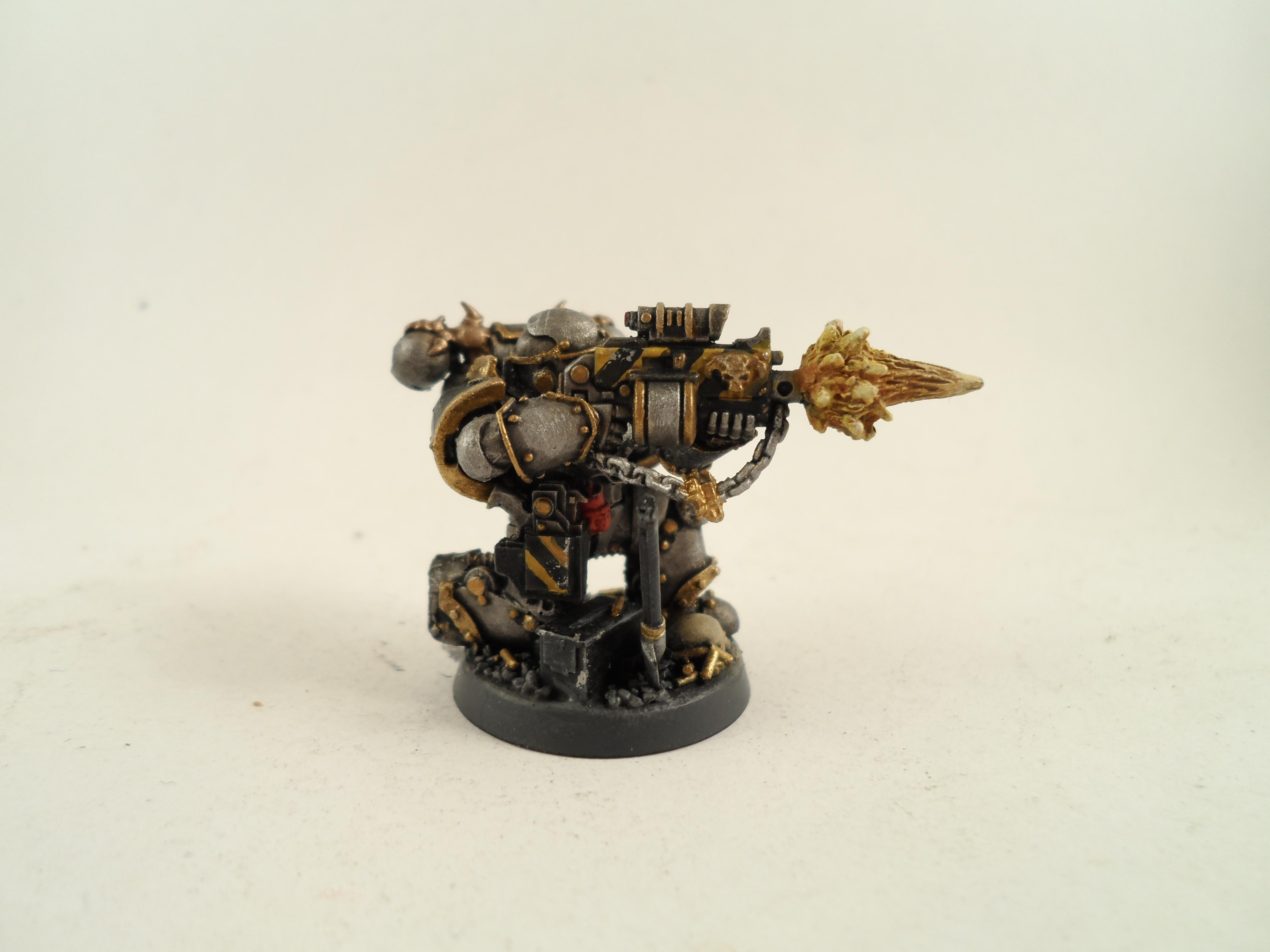 Chaos, Chaos Space Marines, Iron Warriors, Siege