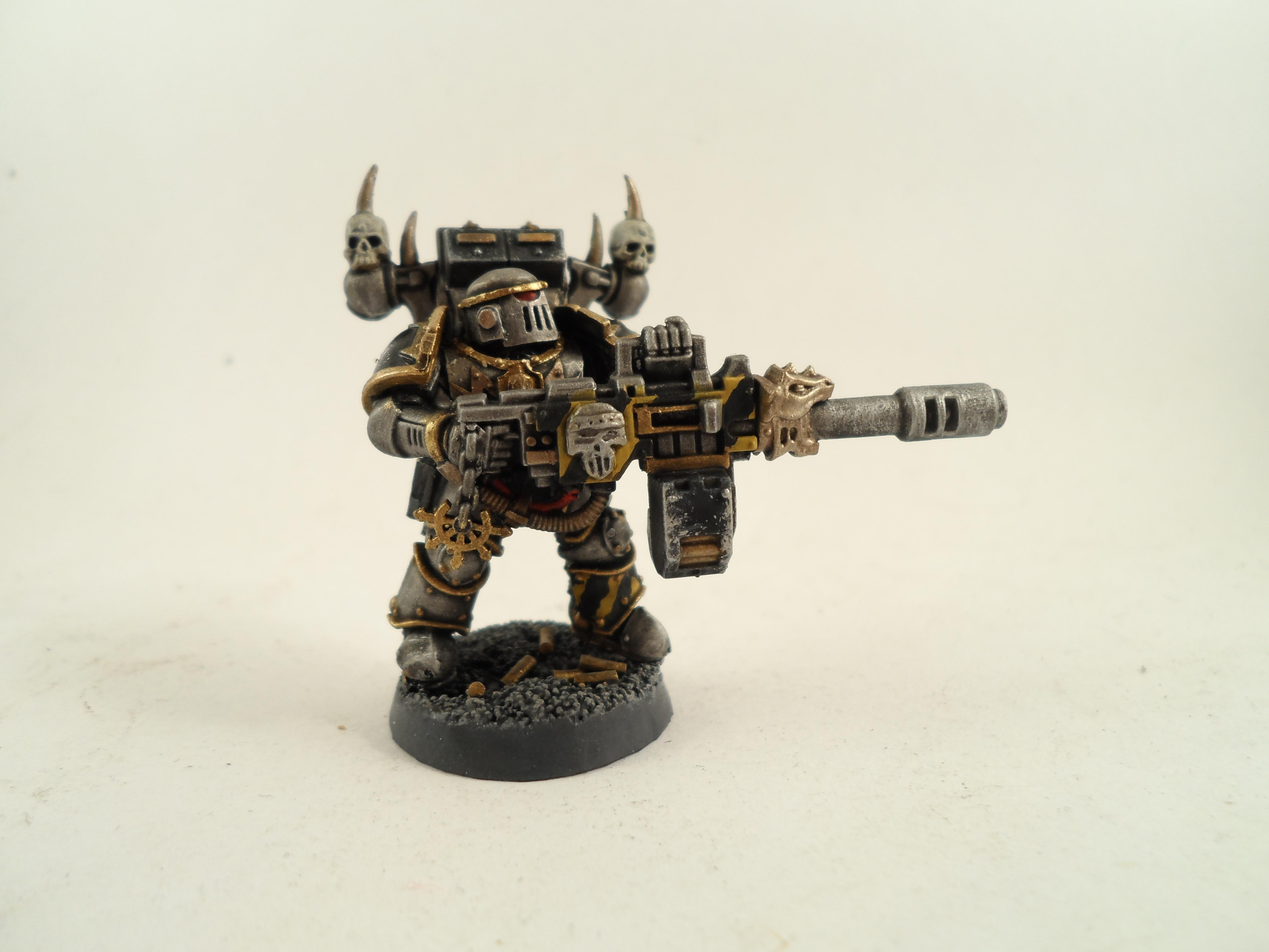 Chaos, Chaos Space Marines, Iron Warriors, Siege