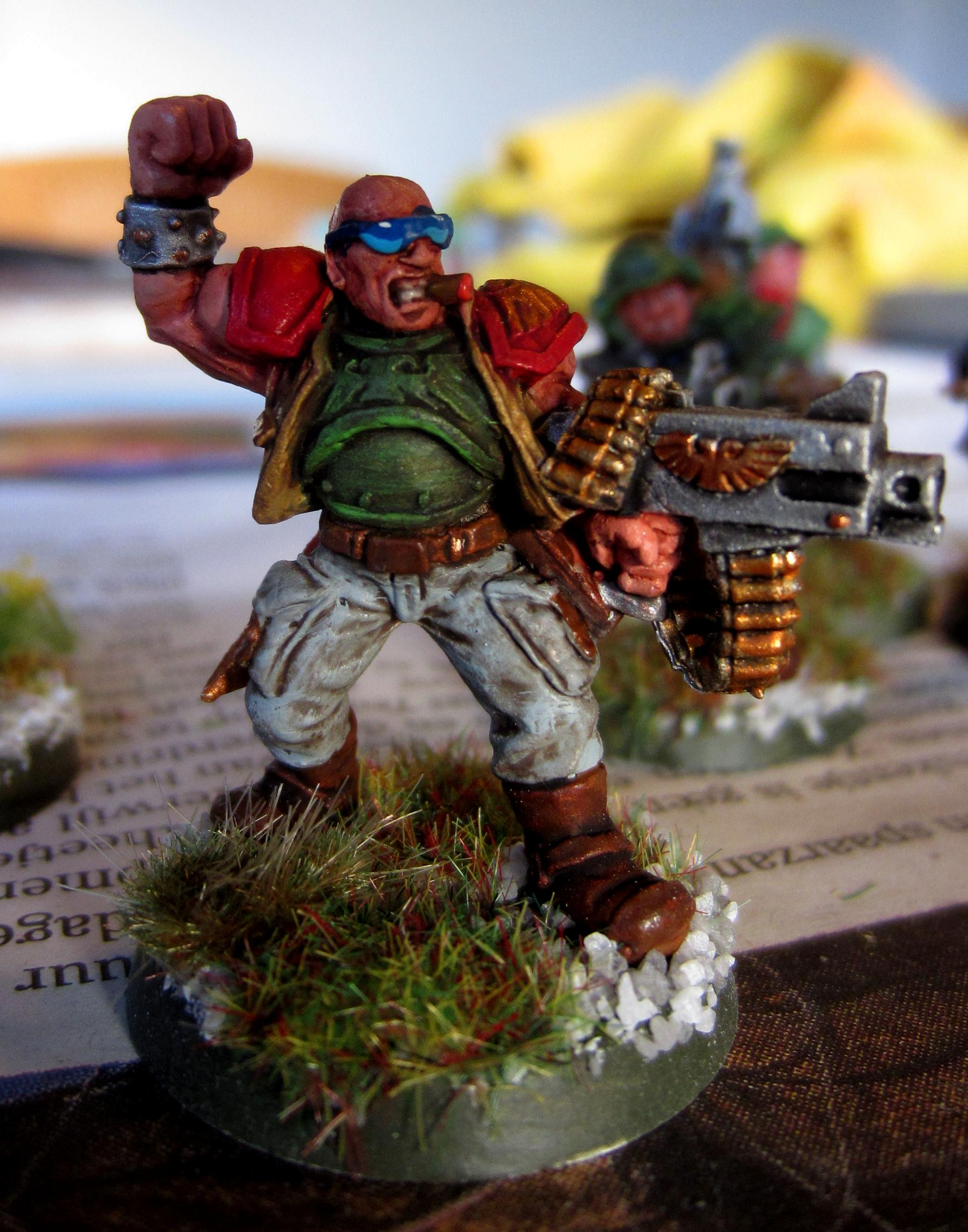 2nd Edition, Acolytes, Catachan, Henchman, Inquisition, Officer, Warband