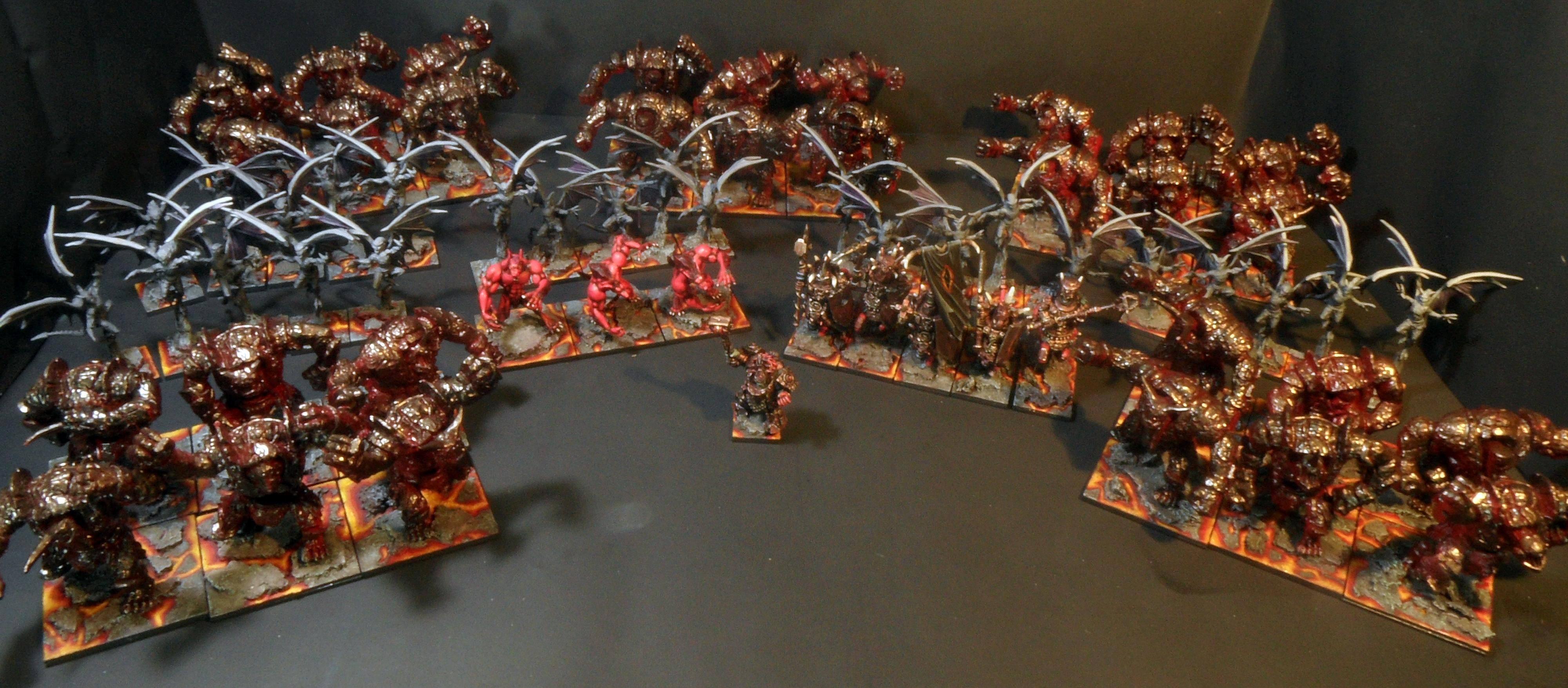 Abyssal, Abyssal Dwarfs, Abyssal Dwarves, Lava, Lordofsmurfs, Mantic, Mantic Games