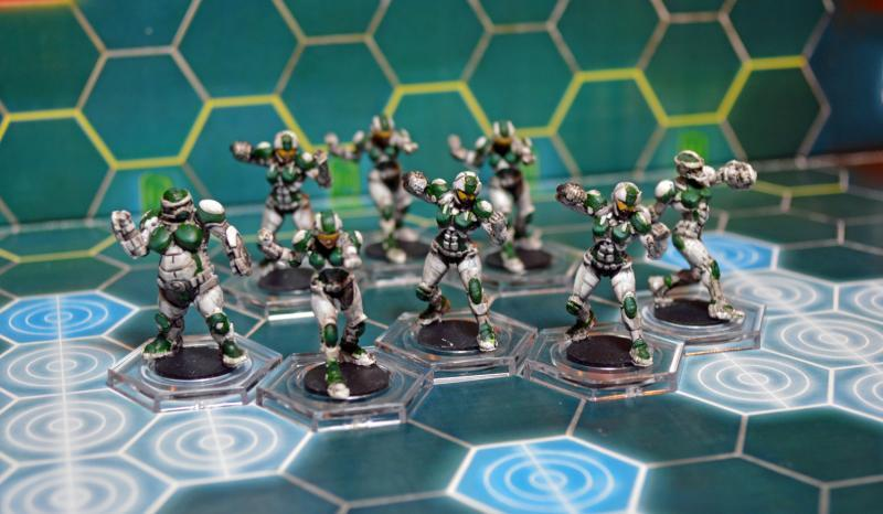 Corporation, Dreadball, Eagles, Humans, Void Sirens