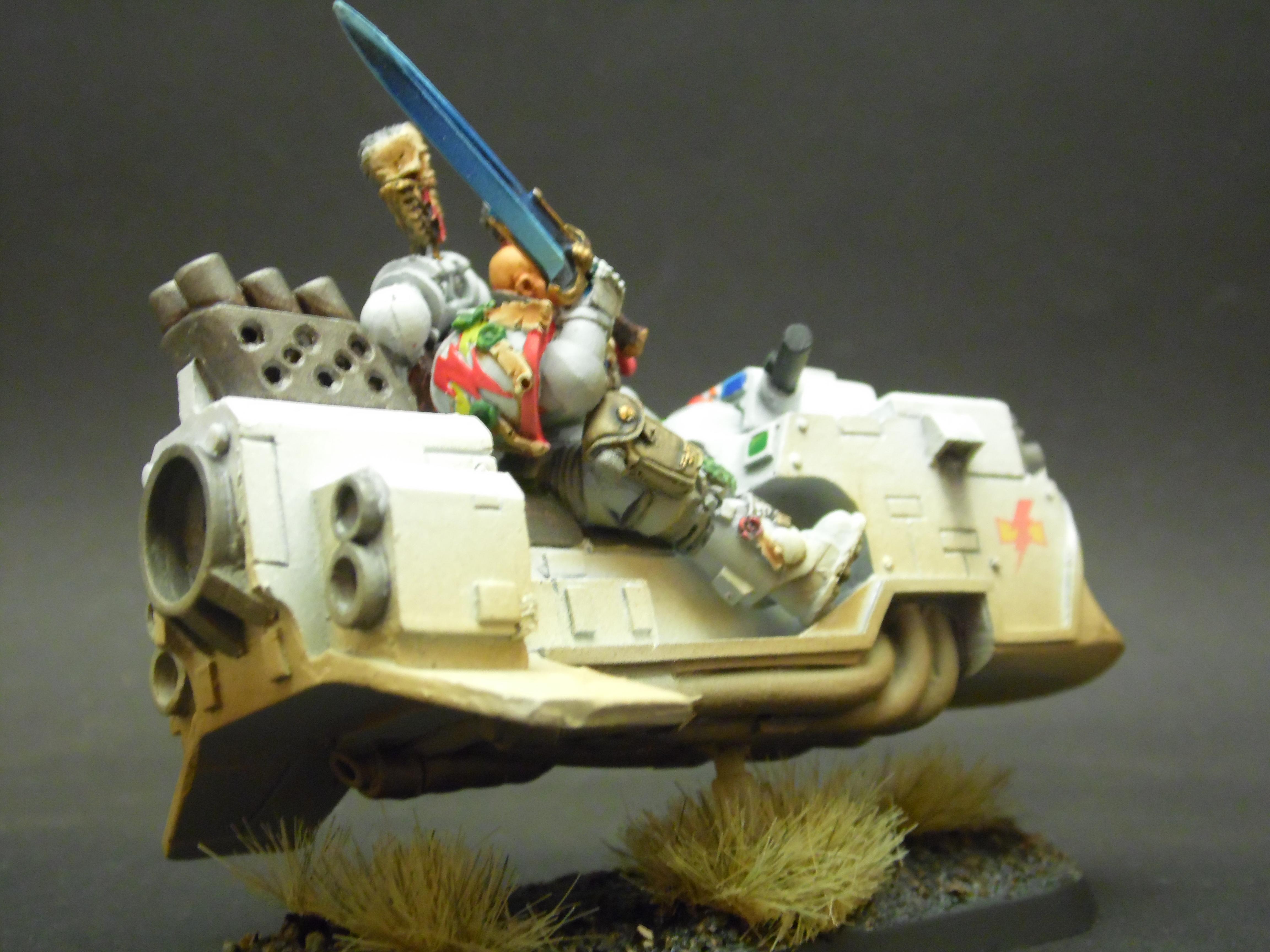 Khan, Kor'sarro, Moondrakkan, Painting, Rusty, Rustytankpainting, Scars, Tank, Warhammer 40,000, Warhammer Fantasy, White
