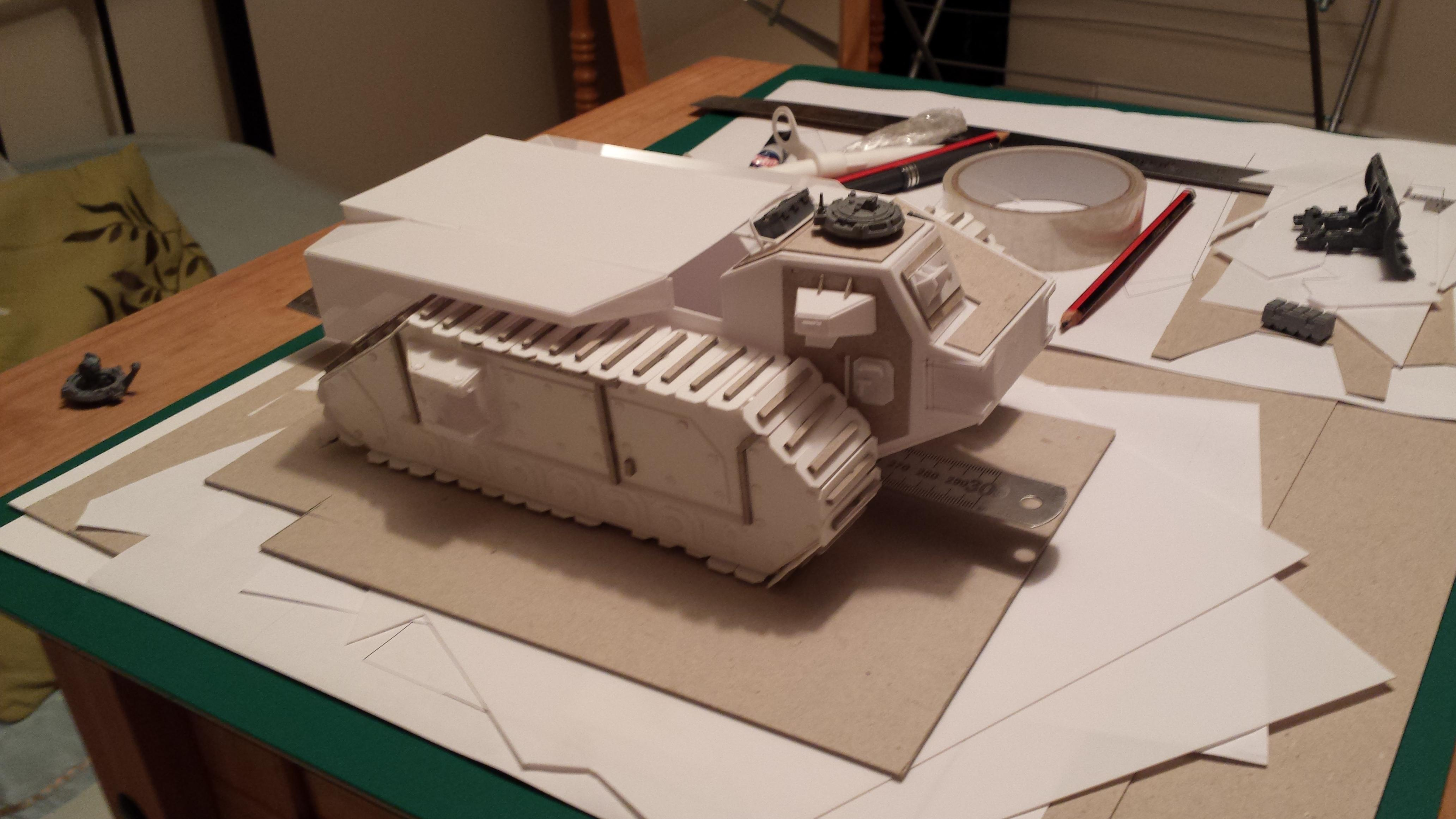 Crassus, Crassus Armoured Assault, Imperial Guard, Troop Carrier