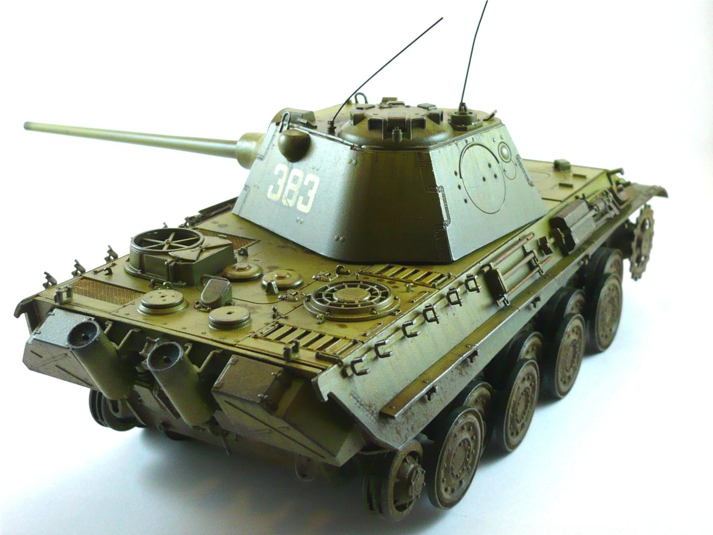 1/35 Scale, Flames Of War, Military Modeling, Military Modelling, Panther, Panther F, Tiger, World War 2