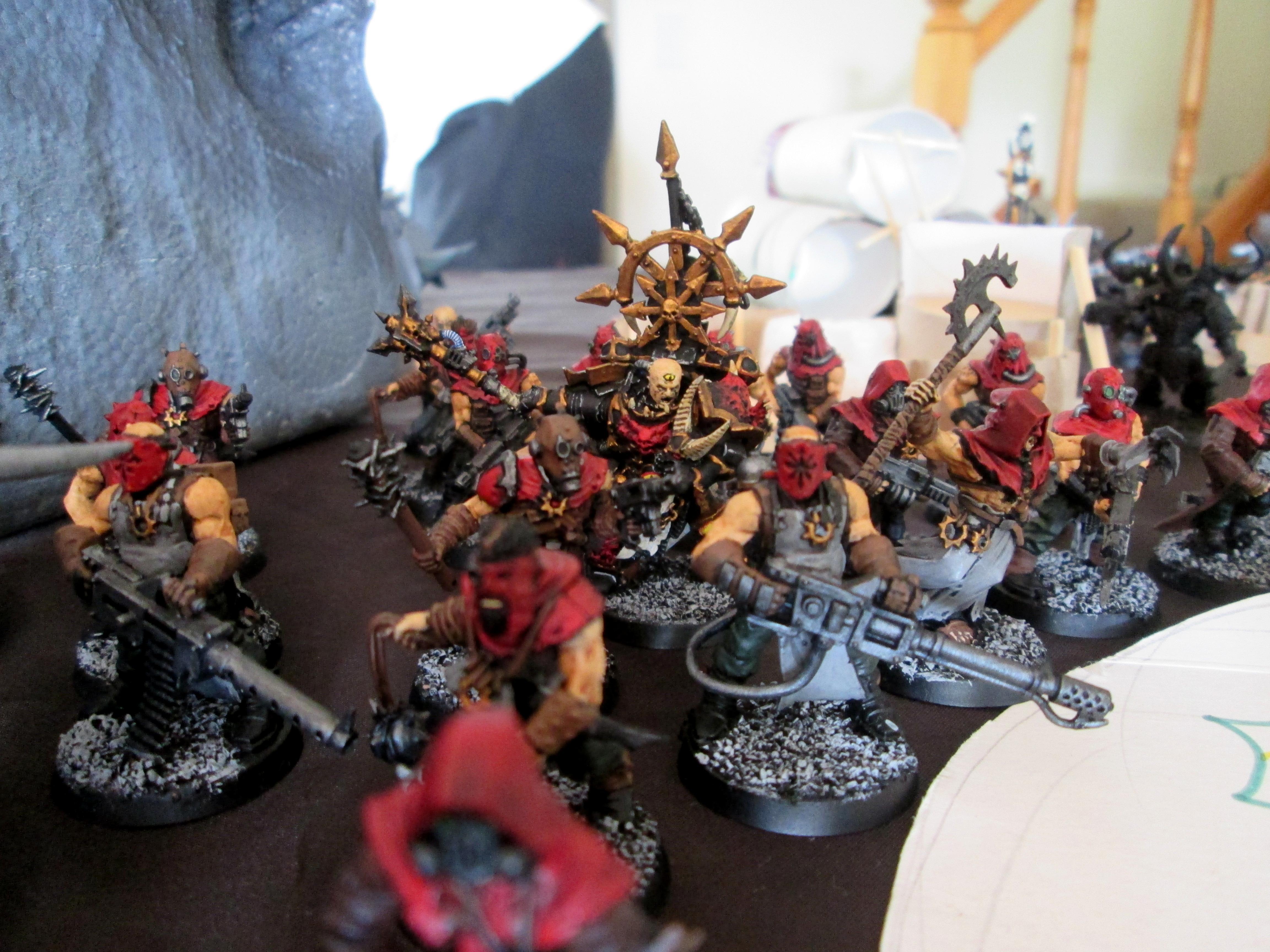 Chaos Cultists, Dark Apostle, Warhammer 40,000