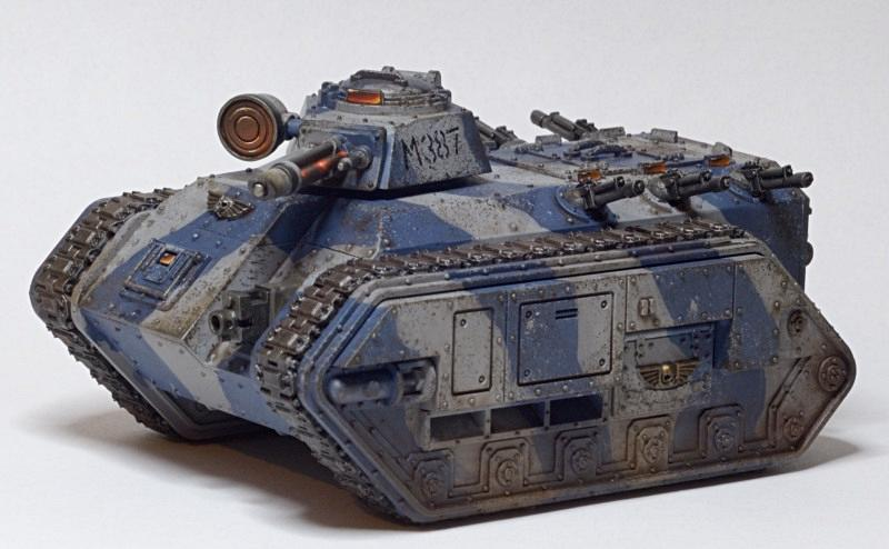 Camouflage, Chimera, Imperial Guard, Search Light, Tank, Weathered