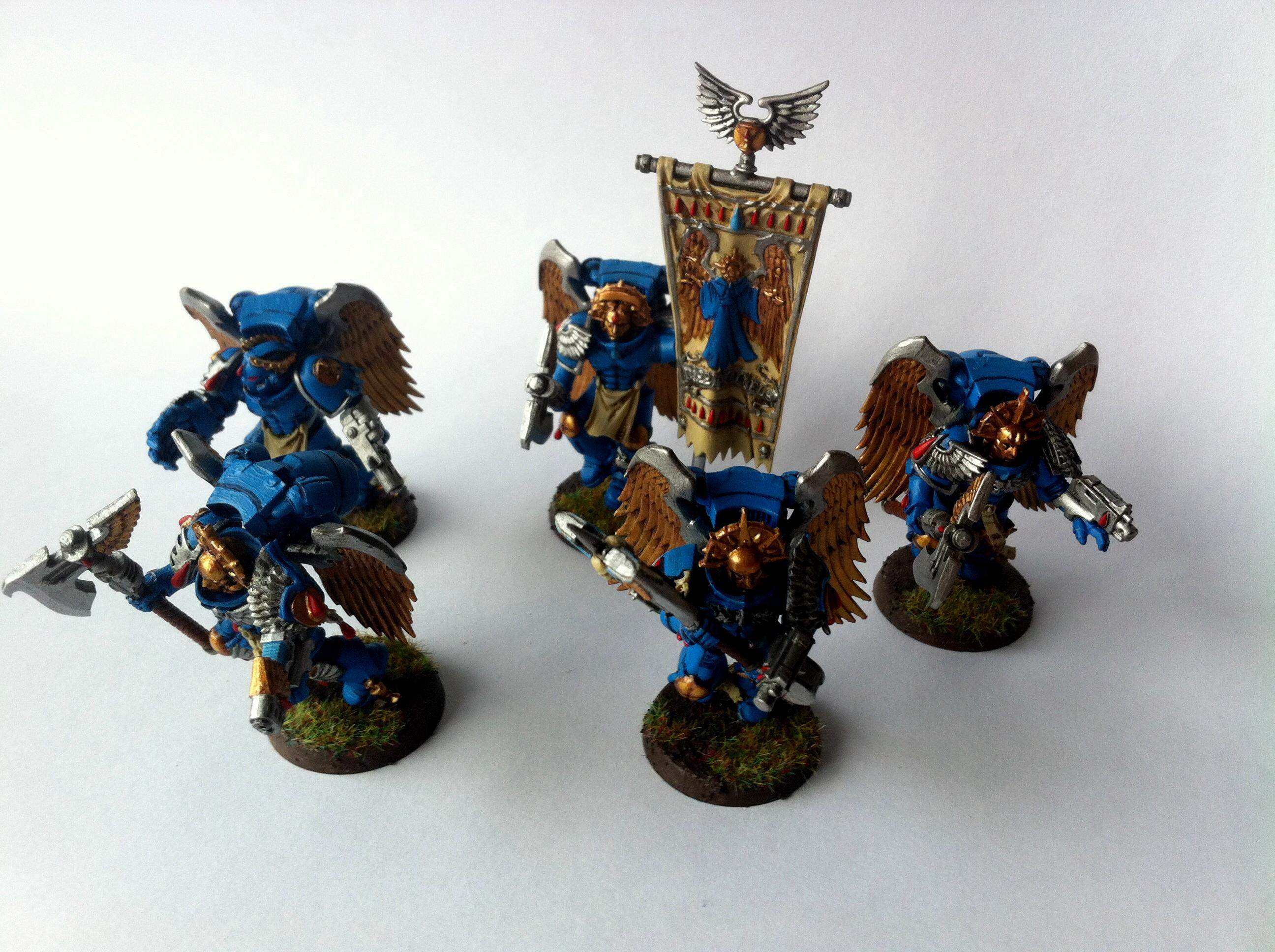 Angel, Astorath The Grim, Blood, Blue, Guard, Painted, Sanguinary, Winged