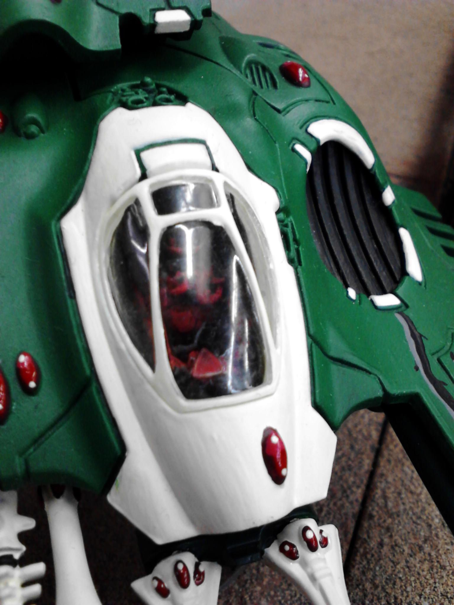 Biel Tan, Cockpit, Eldar, Falcon, Gems, Green, Thorns