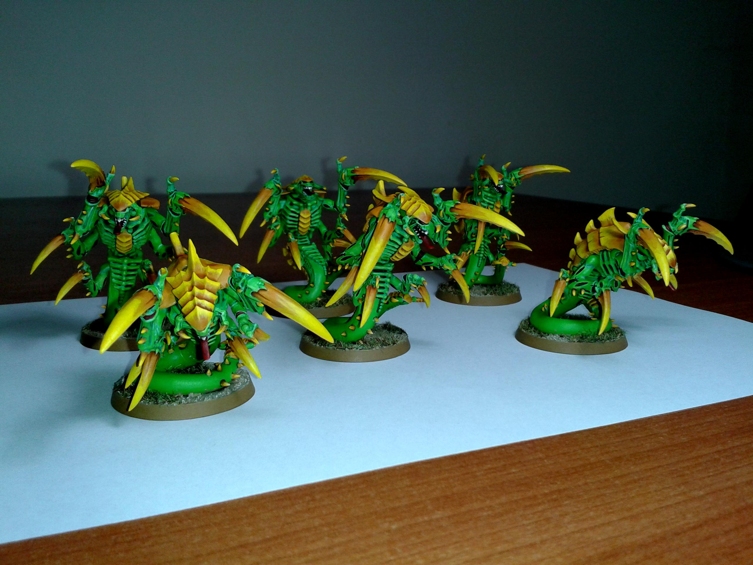 Green, Raveners, Tty, Tyranids, Yellow