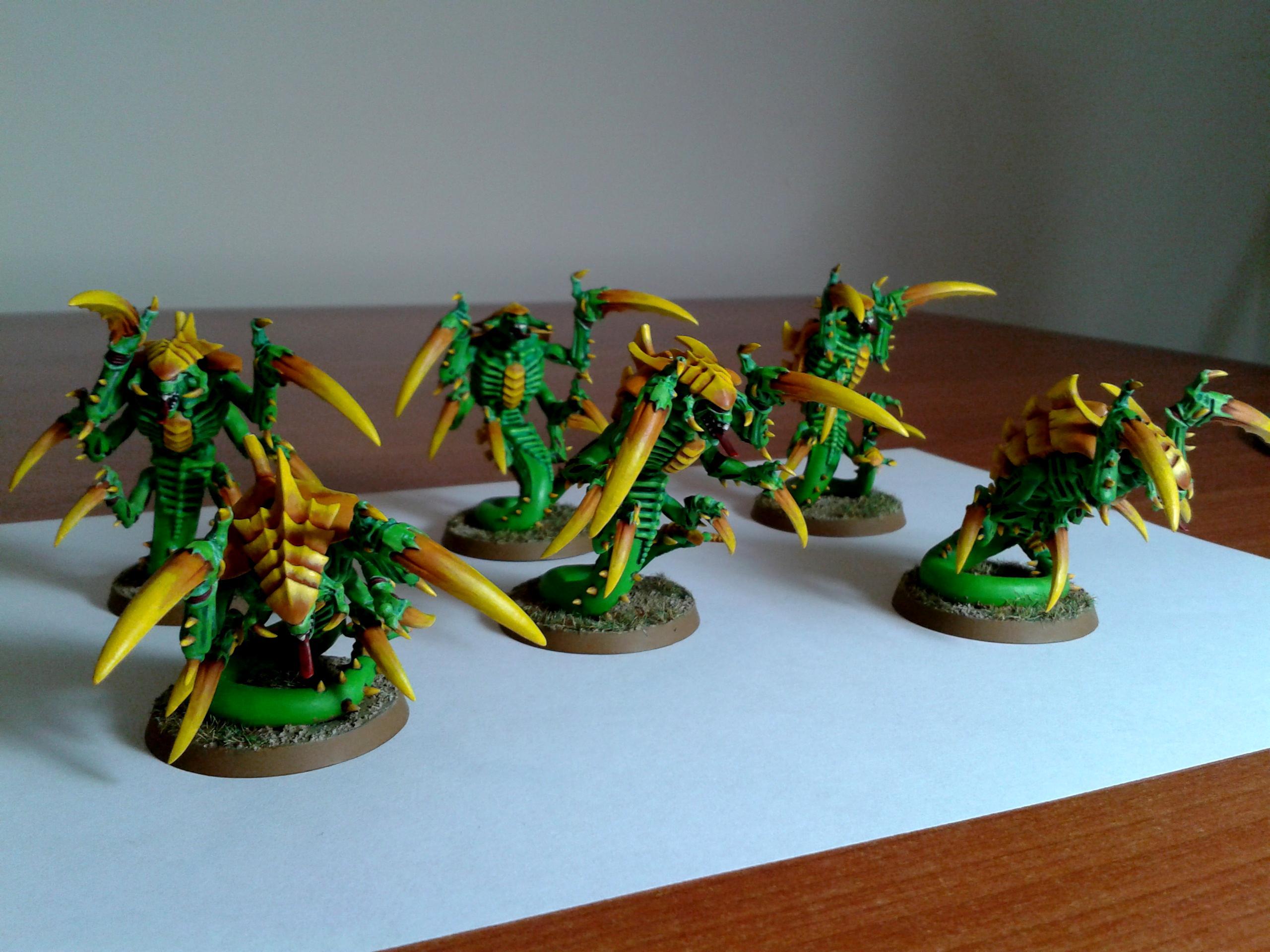 Green, Raveners, Tty, Tyranids, Yellow