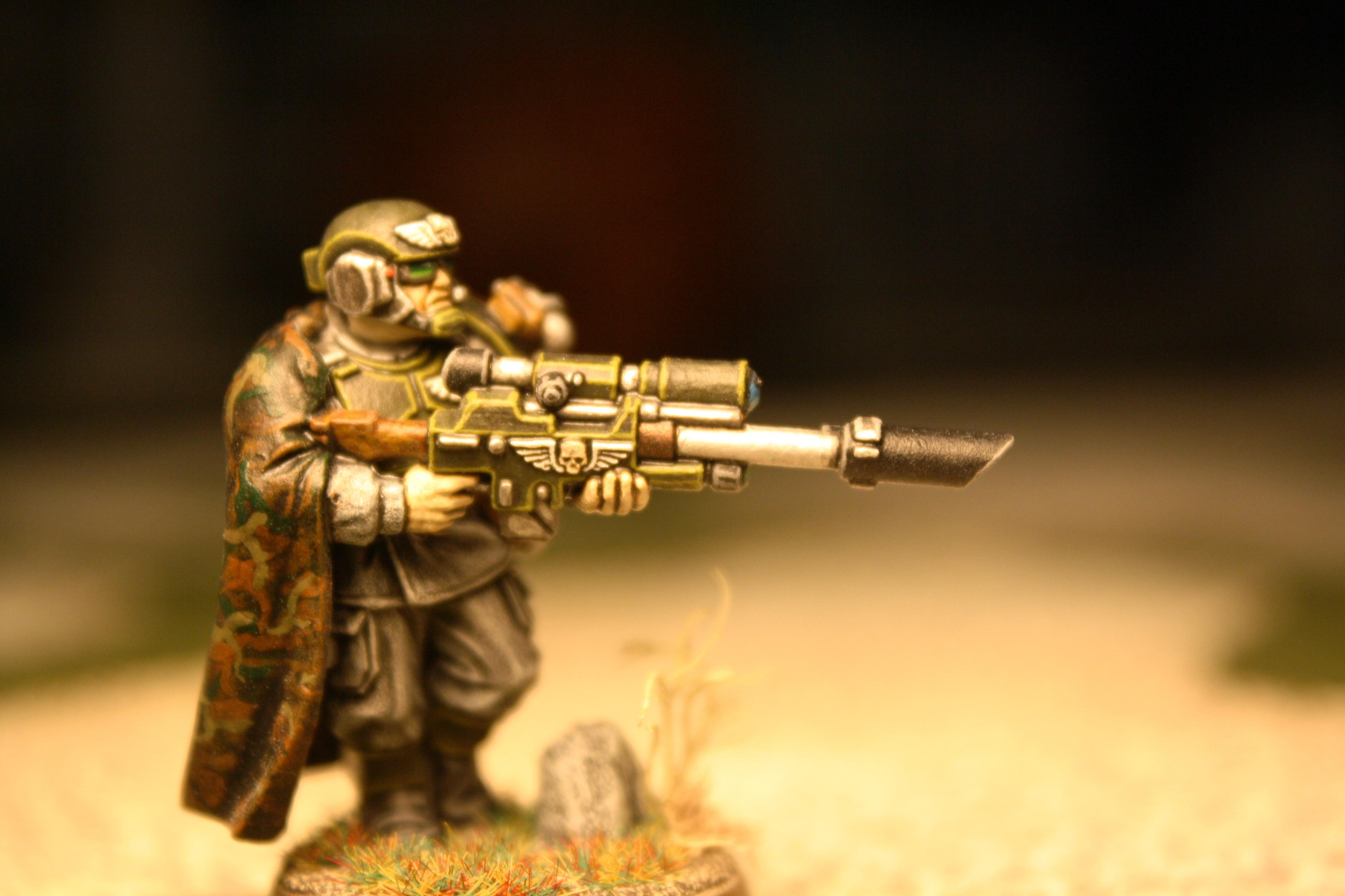 Cadians, Cloak, Snipers