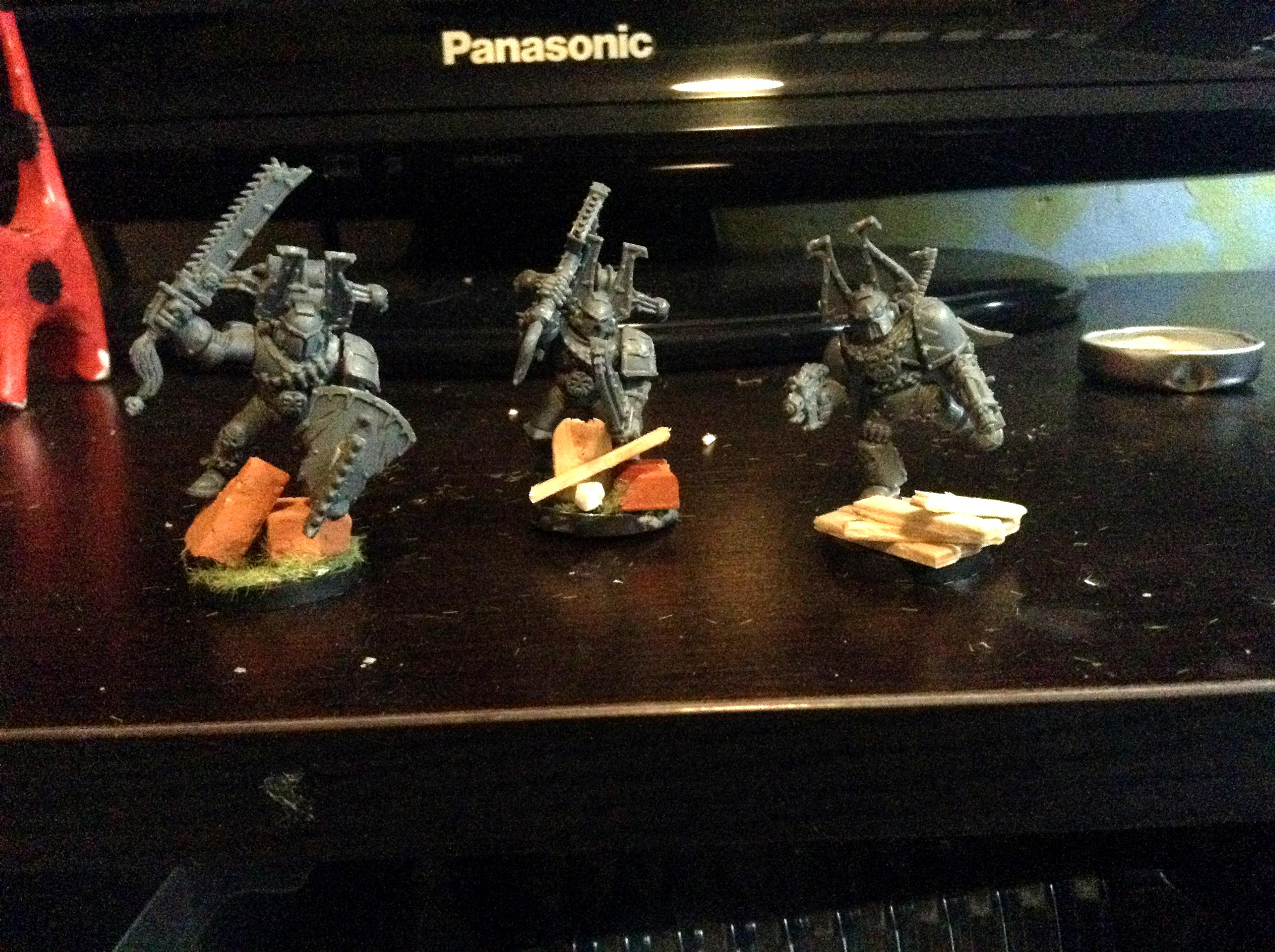Berserkers, Caos, Chaos, Chaos Space Marines, Conversion, Converted Bases, Converted Plataform, Khorne, Khorne Berserkers, Marines Del Caos