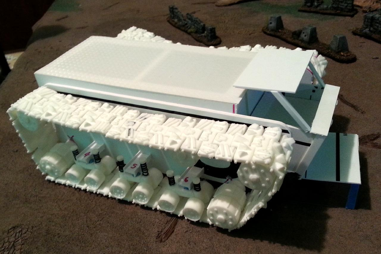 Battle Fortress, Orks, Ouze, Scratch Build, Super-heavy, Warhammer 40,000, Work In Progress