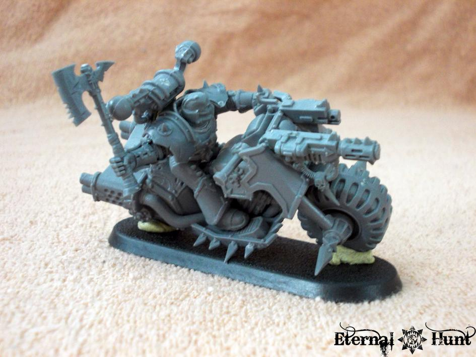 Berserkers, Bike, Chaos, Chaos Bikes, Chaos Space Marines, Conversion, Khorne, Warhammer 40,000, World Eaters
