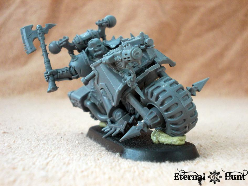 Berserkers, Bike, Chaos, Chaos Bikes, Chaos Space Marines, Conversion, Khorne, Warhammer 40,000, World Eaters