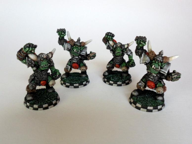 Blood Bowl, Orcs, Orks