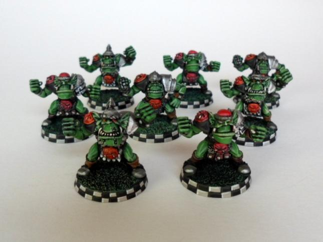 Blood Bowl, Orcs, Orks