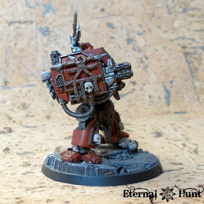 Chaos, Chaos Dreadnought, Chaos Space Marines, Conversion, Helbrute, Khorne, Khoron The Undying, Multimelta, Warhammer 40,000, World Eaters