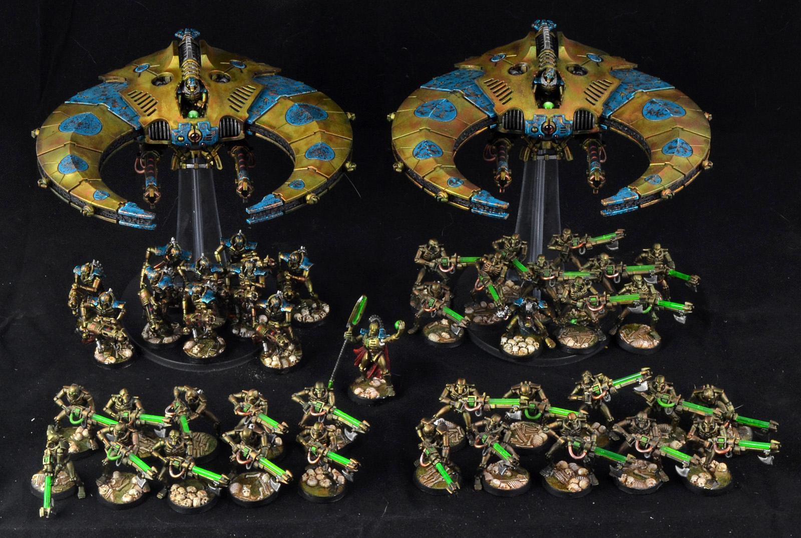 Battle Report, Necrons, Space Marines, Warhammer 40,000