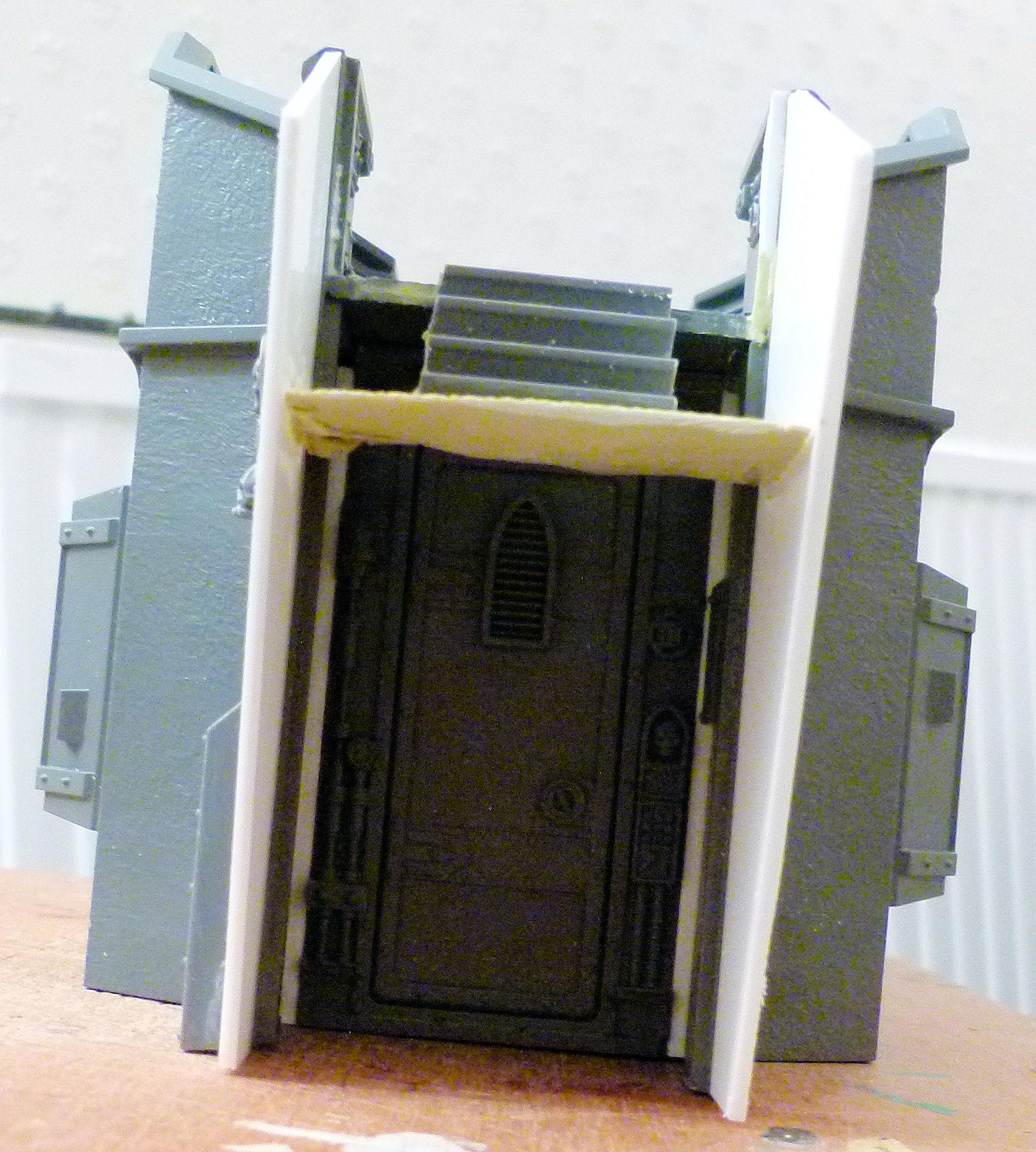 """WIP  """"Fort""""ress of Redemption Front gae side hatch"""