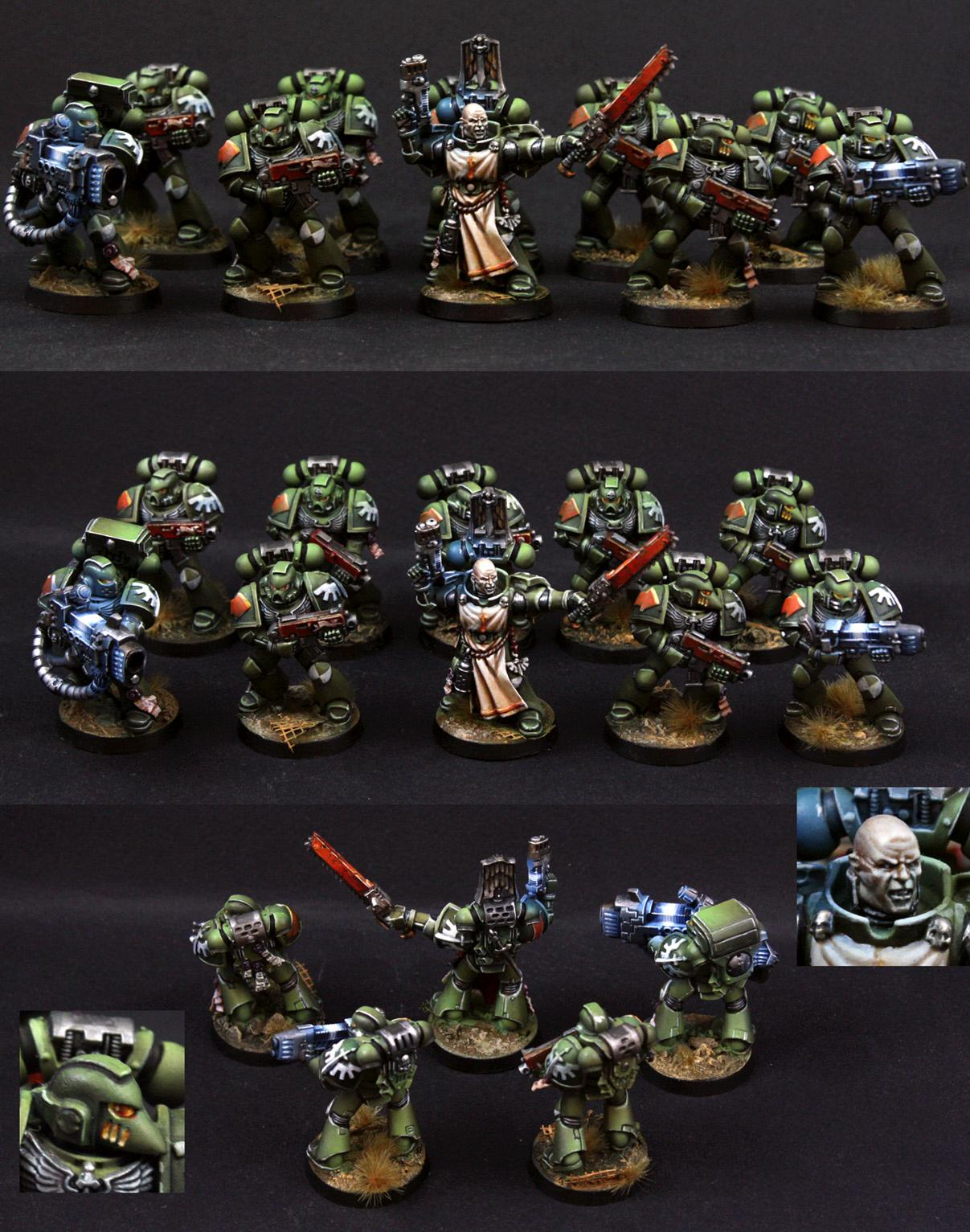 Dark Angels, Dark Vengeance, Object Source Lighting, Space Marines